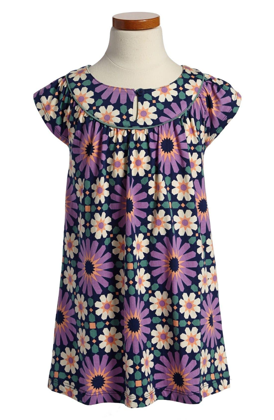 Main Image - Tea Collection 'Fes' Tile Print Dress (Little Girls & Big Girls)