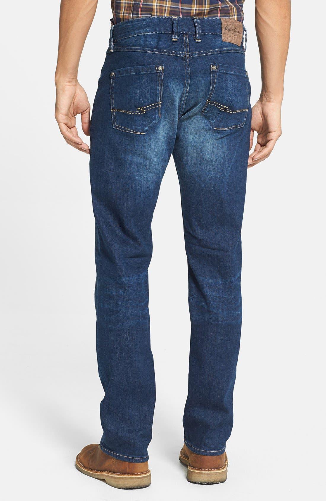 Alternate Image 2  - Robert Graham 'Upside Down' Slim Fit Straight Leg Jeans