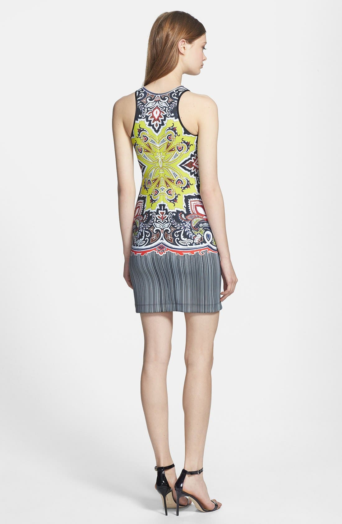 Alternate Image 2  - Clover Canyon 'Havana' Print Scuba Body-Con Dress