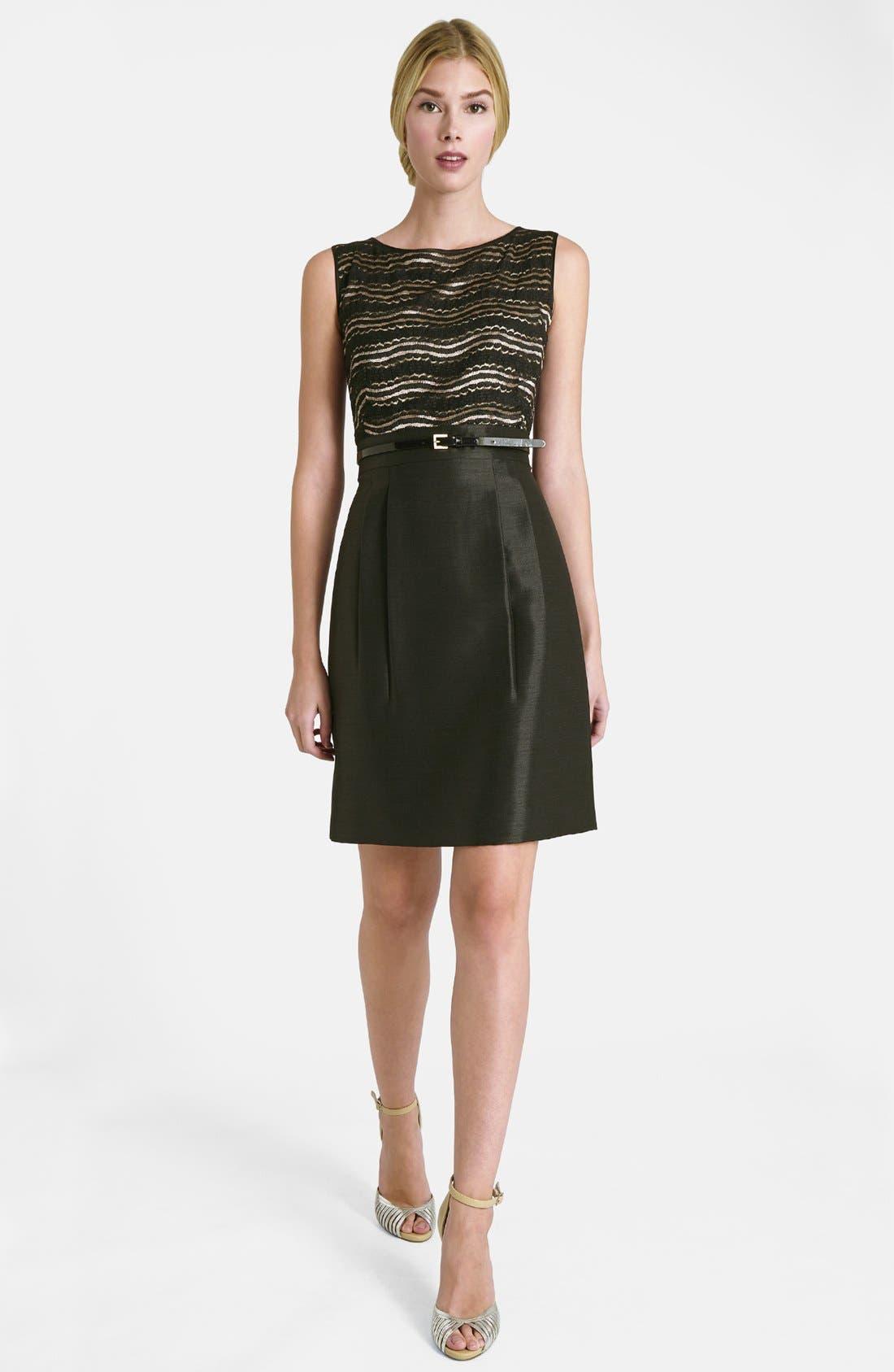 Alternate Image 3  - Tahari Lace Bodice Dress & Jacket