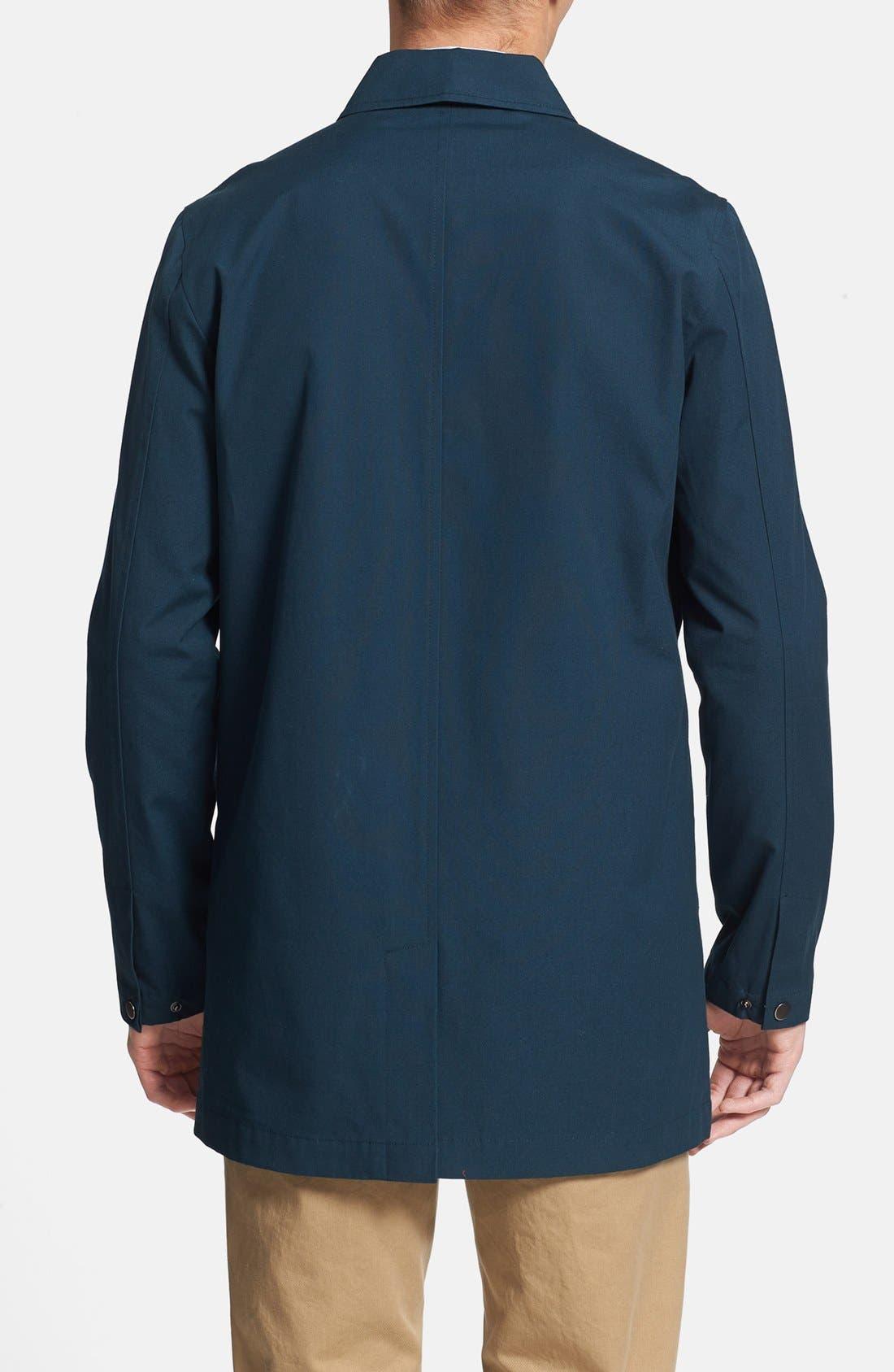 Alternate Image 2  - Topman Cotton Trench Coat
