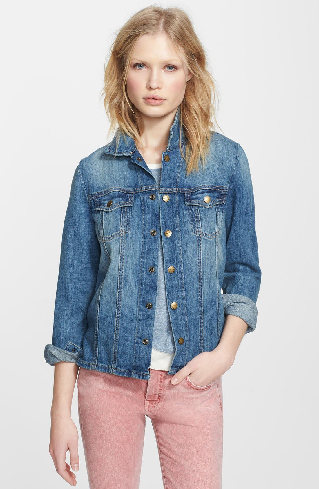 Alternate Image 1 Selected - Current/Elliott 'The Mechanic' Jean Jacket