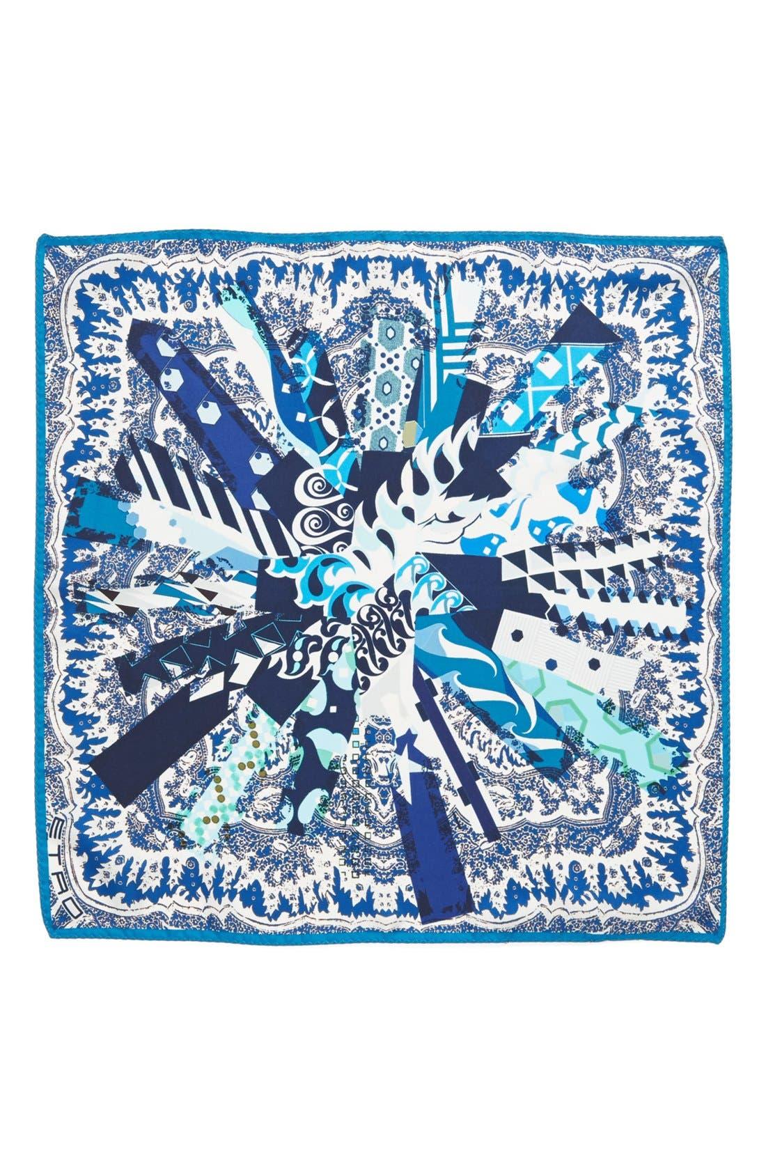 Alternate Image 3  - Etro Paisley Silk Pocket Square