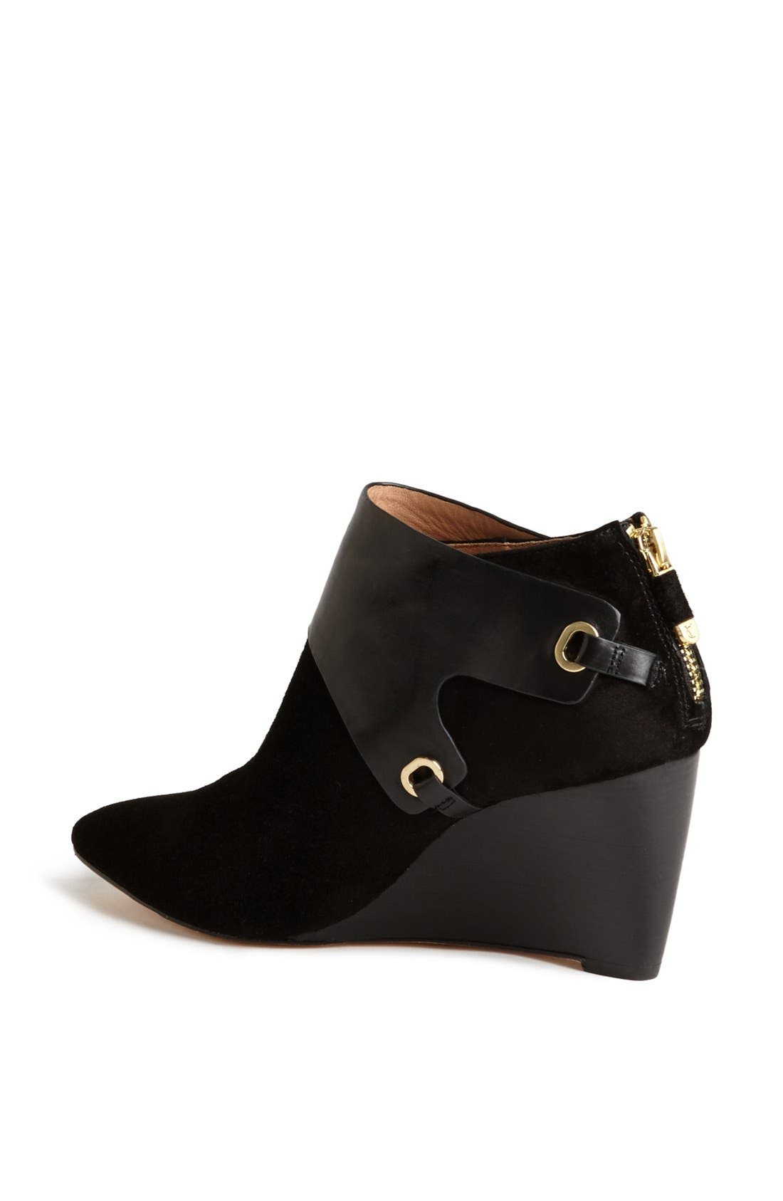 Alternate Image 2  - VC Signature 'Mallorie' Leather Wedge Bootie