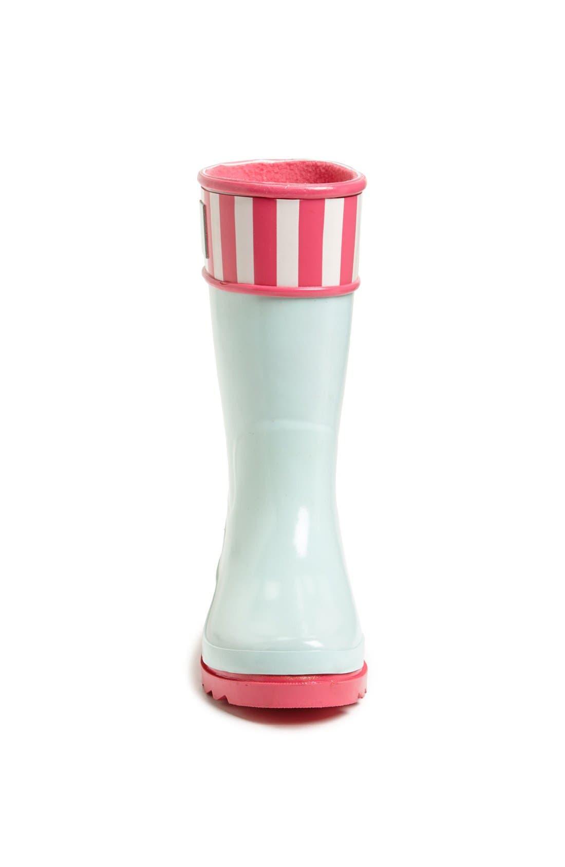 Alternate Image 3  - Sperry Top-Sider® Kids 'Pelican' Rain Boot (Walker, Toddler, Little Kid & Big Kid)