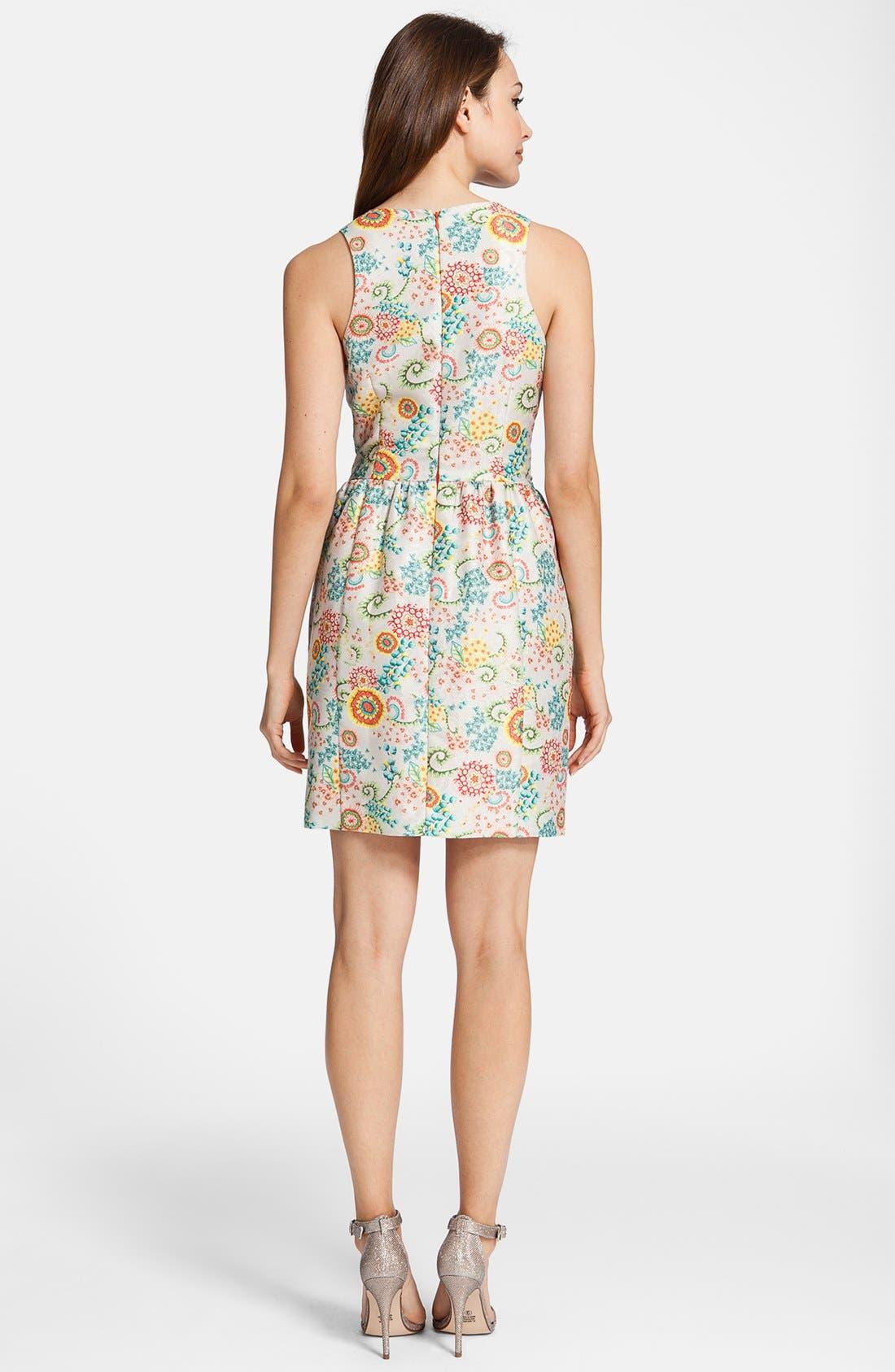 Alternate Image 3  - Cynthia Steffe 'Ashlynn' Print Fit & Flare Dress