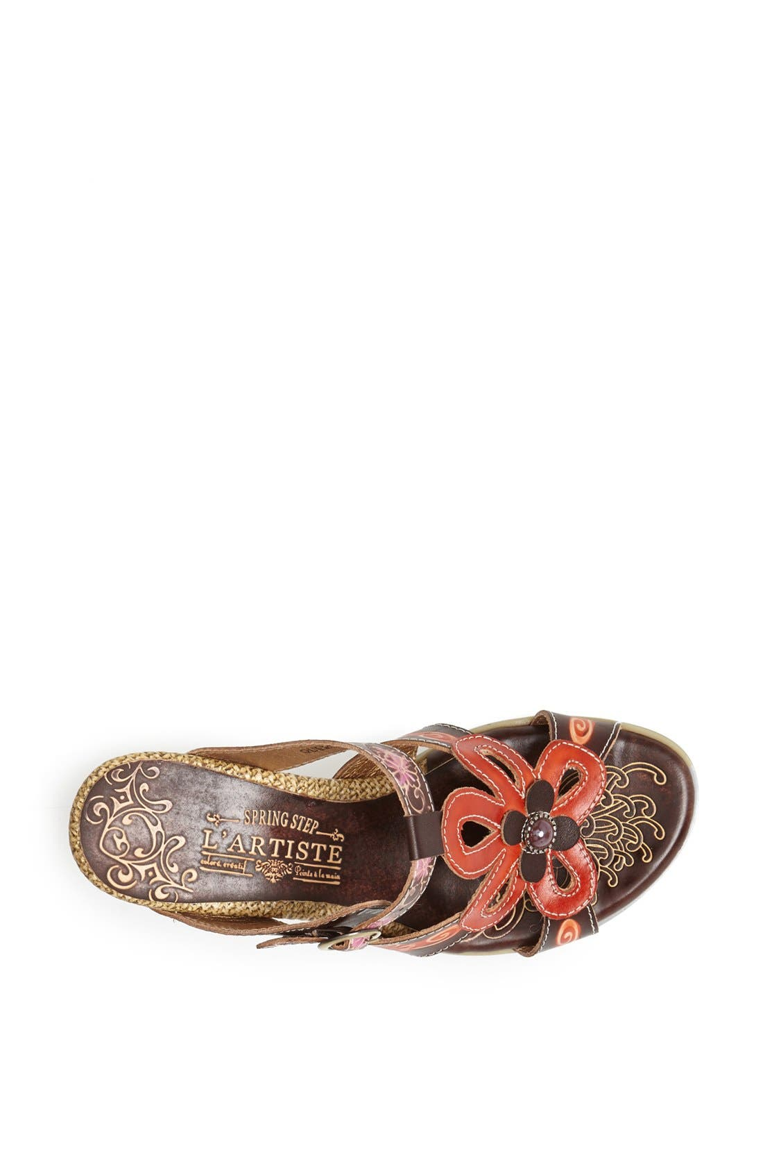 Alternate Image 3  - Spring Step 'Queenie' Leather Sandal
