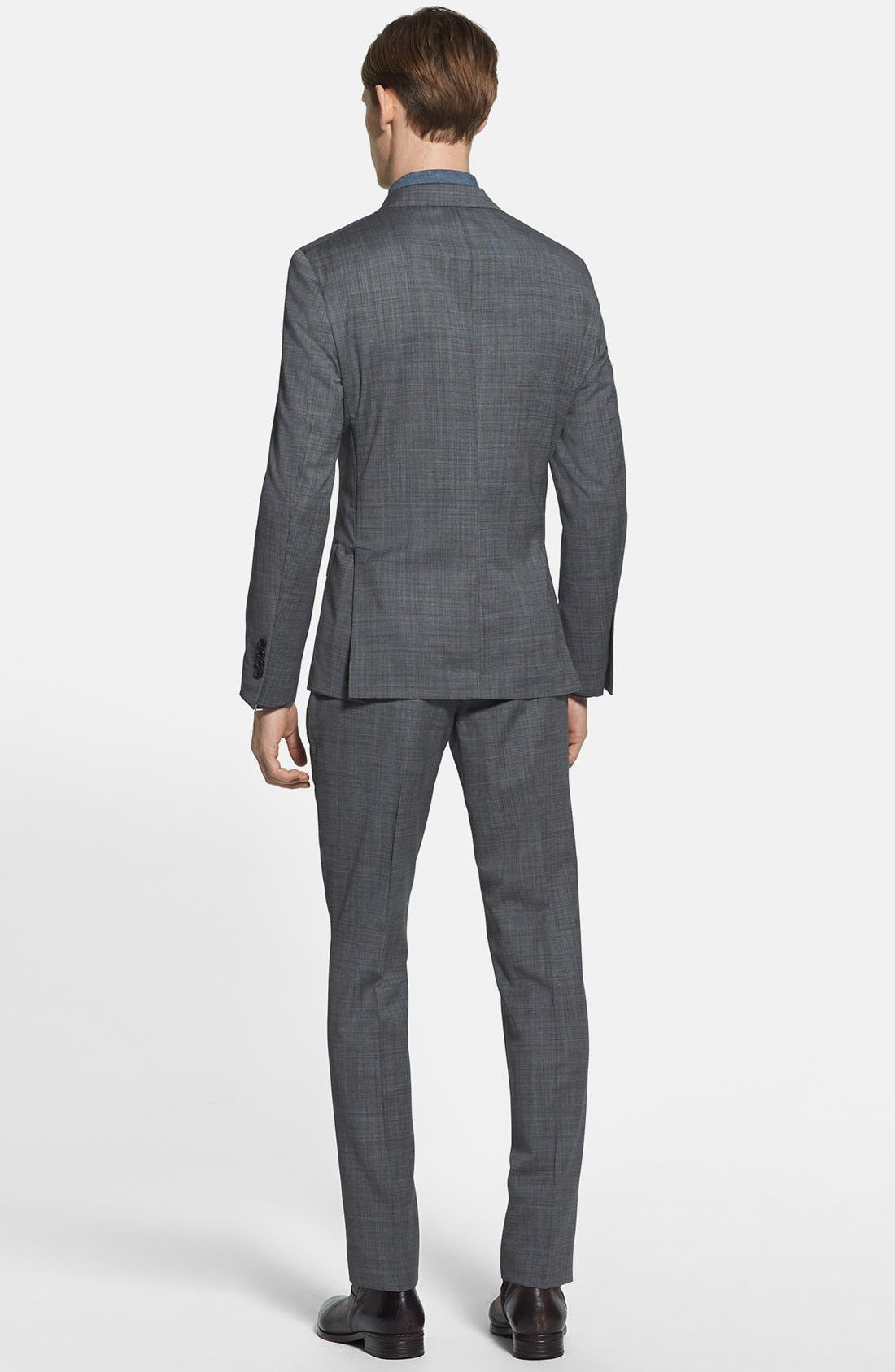 Alternate Image 2  - Todd Snyder Grey Wool Suit