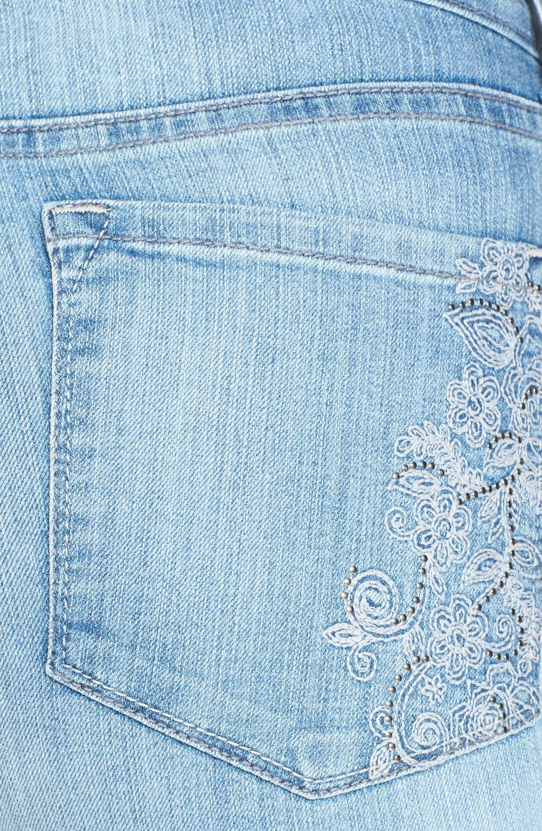 Alternate Image 3  - NYDJ 'Barbara' Stretch Bootcut Jeans (Palos Verdes)