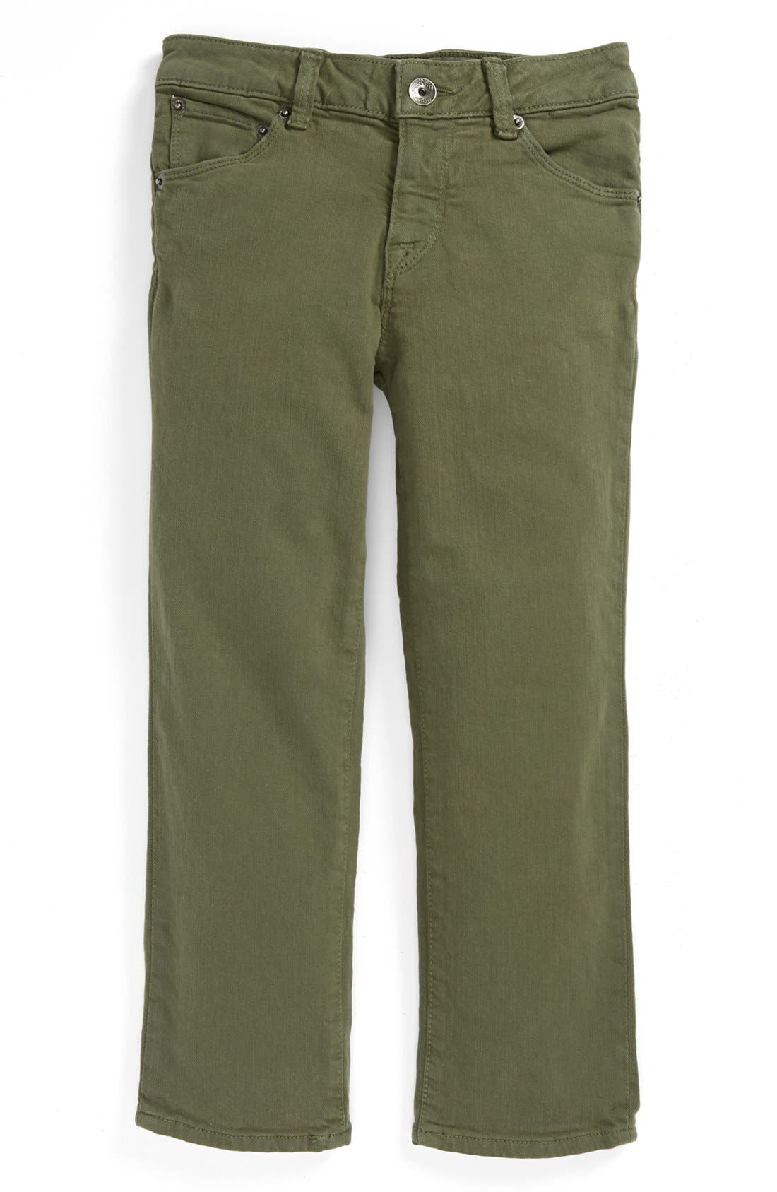 Alternate Image 2  - Volcom 'Riser' Skinny Jeans (Little Boys & Big Boys)