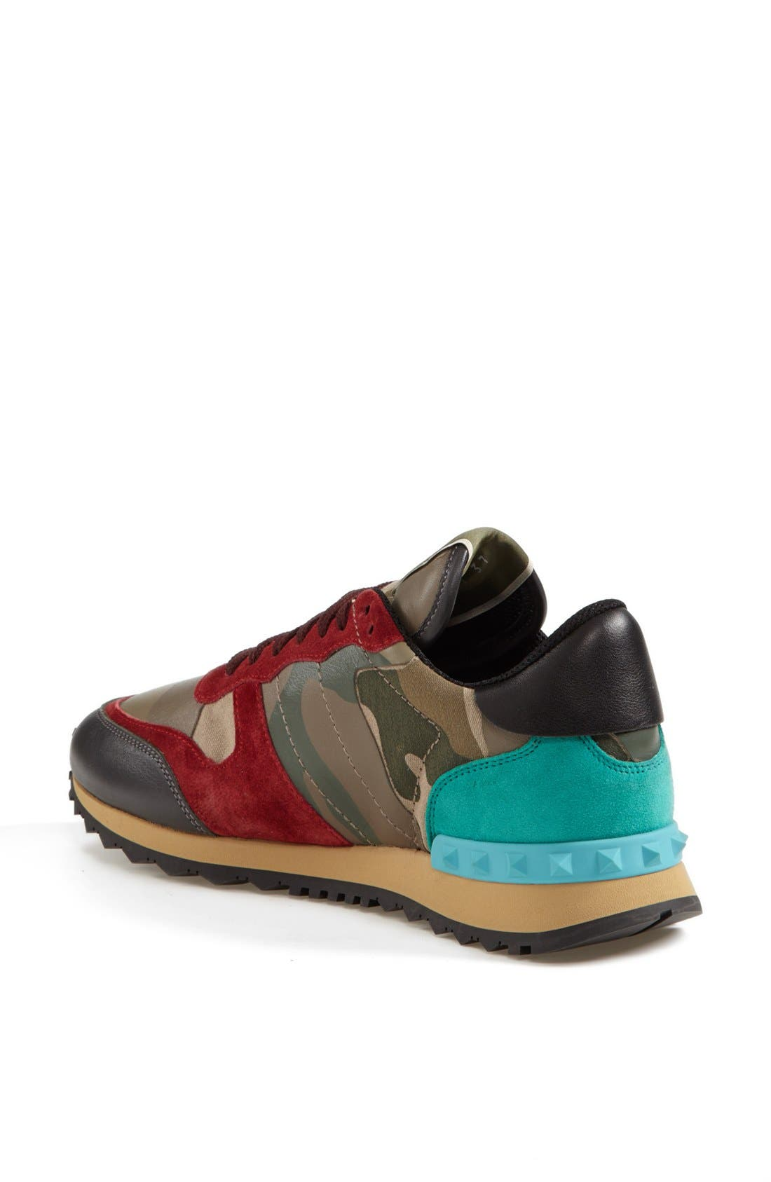Alternate Image 2  - Valentino Camouflage Sneaker