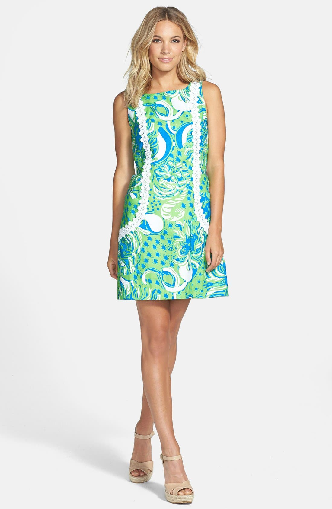Alternate Image 1 Selected - Lilly Pulitzer® 'Liz' Print Shift Dress