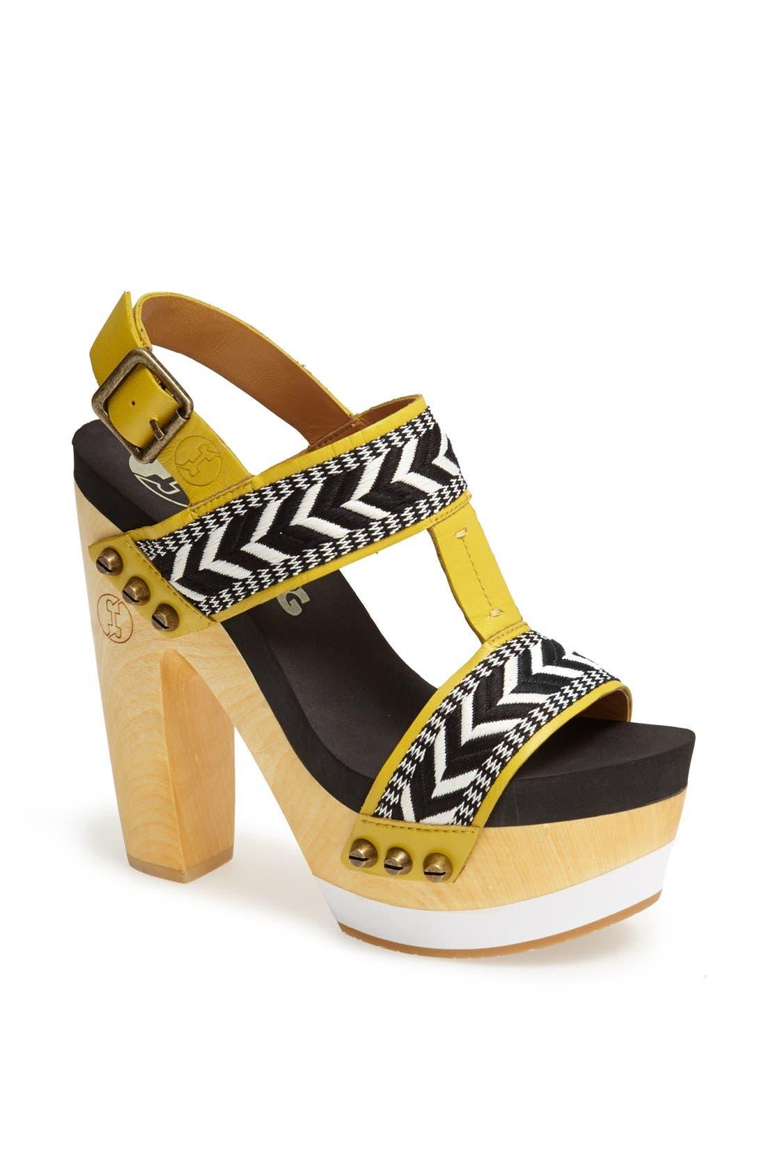 Main Image - Flogg 'Risky' Platform Sandal