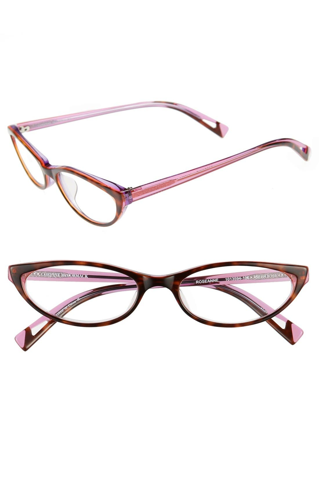Alternate Image 1 Selected - Wildfox 'Catfarer Spectacle' 53mm Optical Glasses