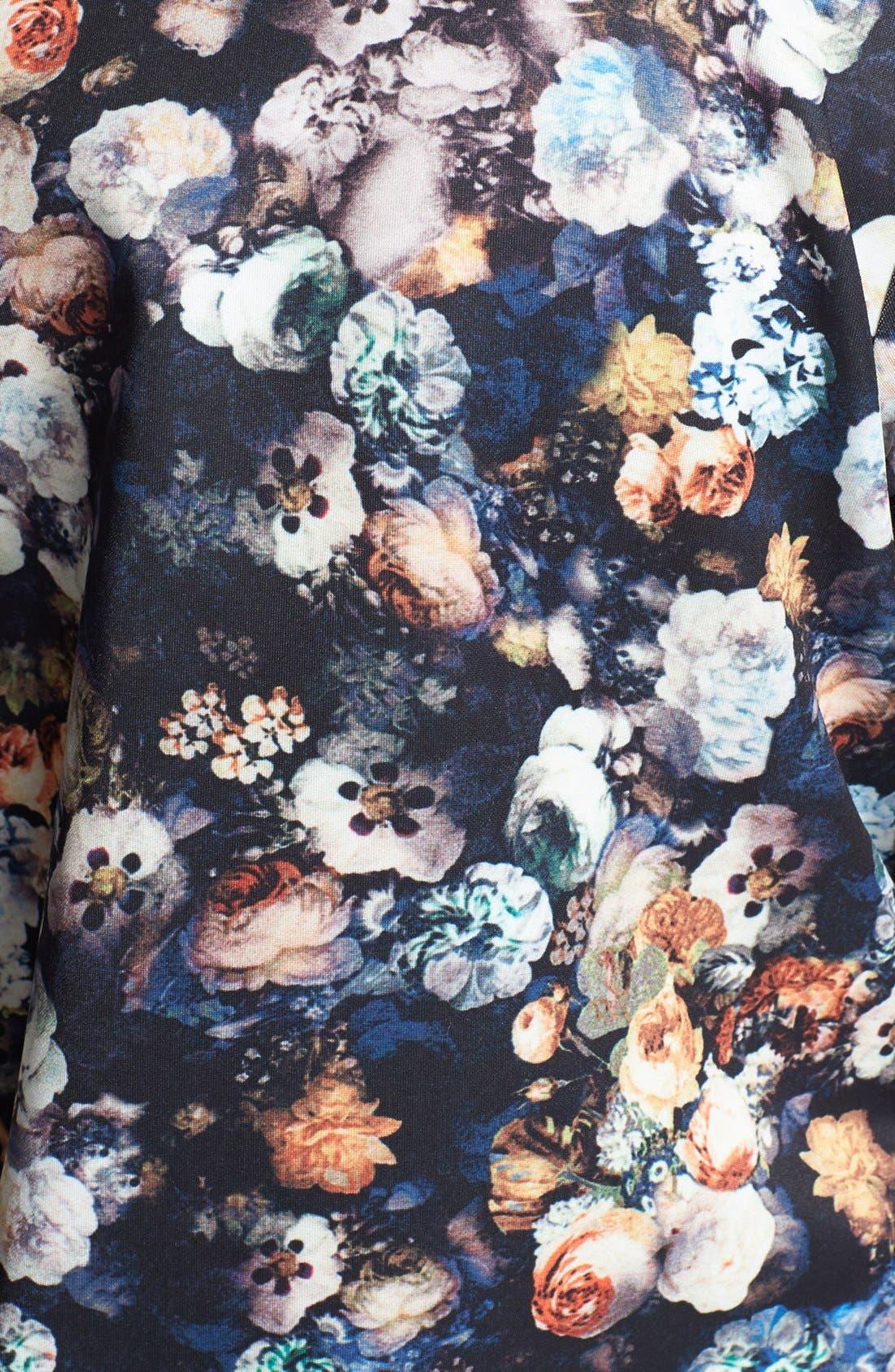 Alternate Image 3  - Lark Floral Print Bomber Jacket
