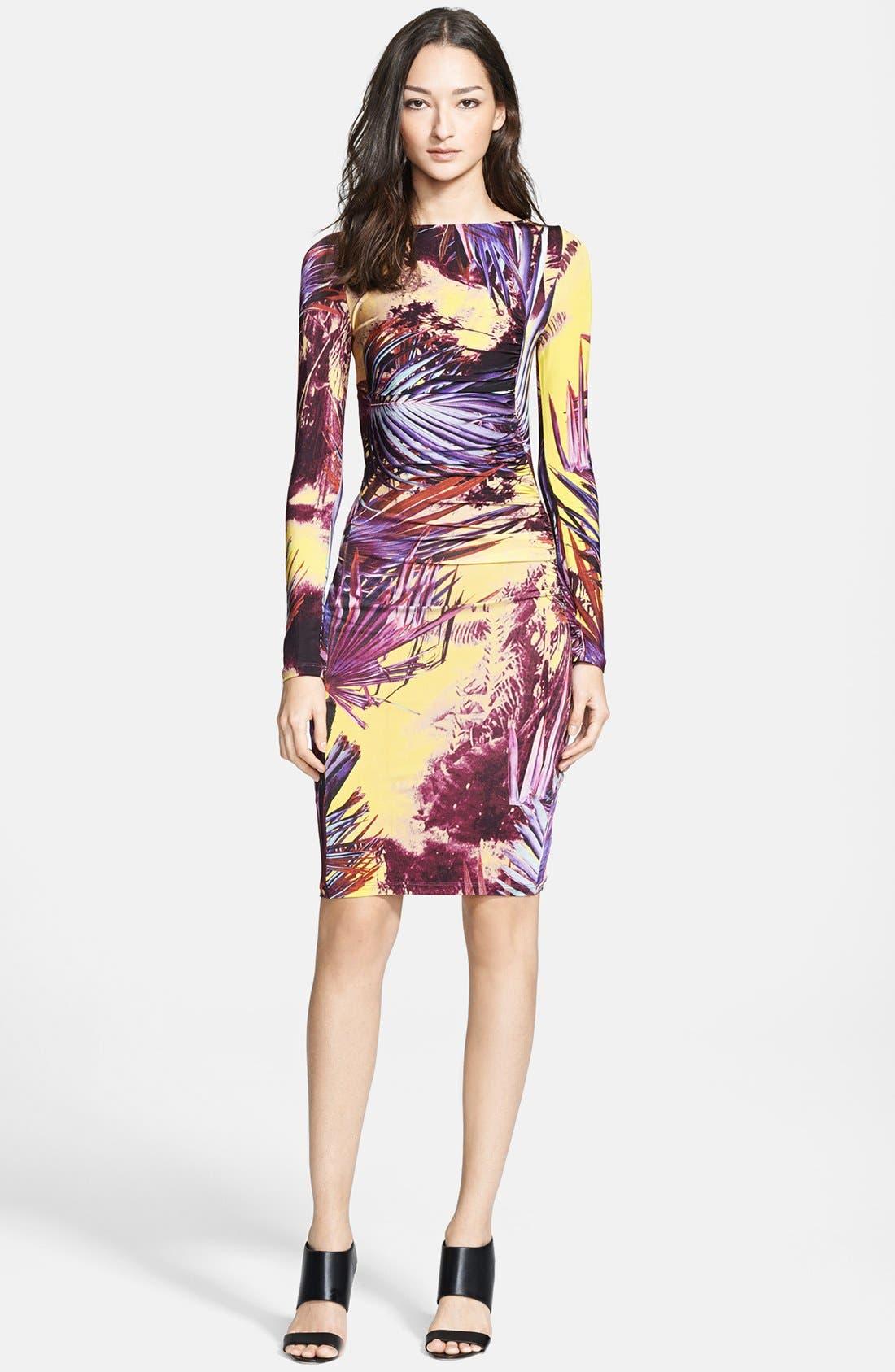 Alternate Image 1 Selected - Jean Paul Gaultier Print Jersey Dress