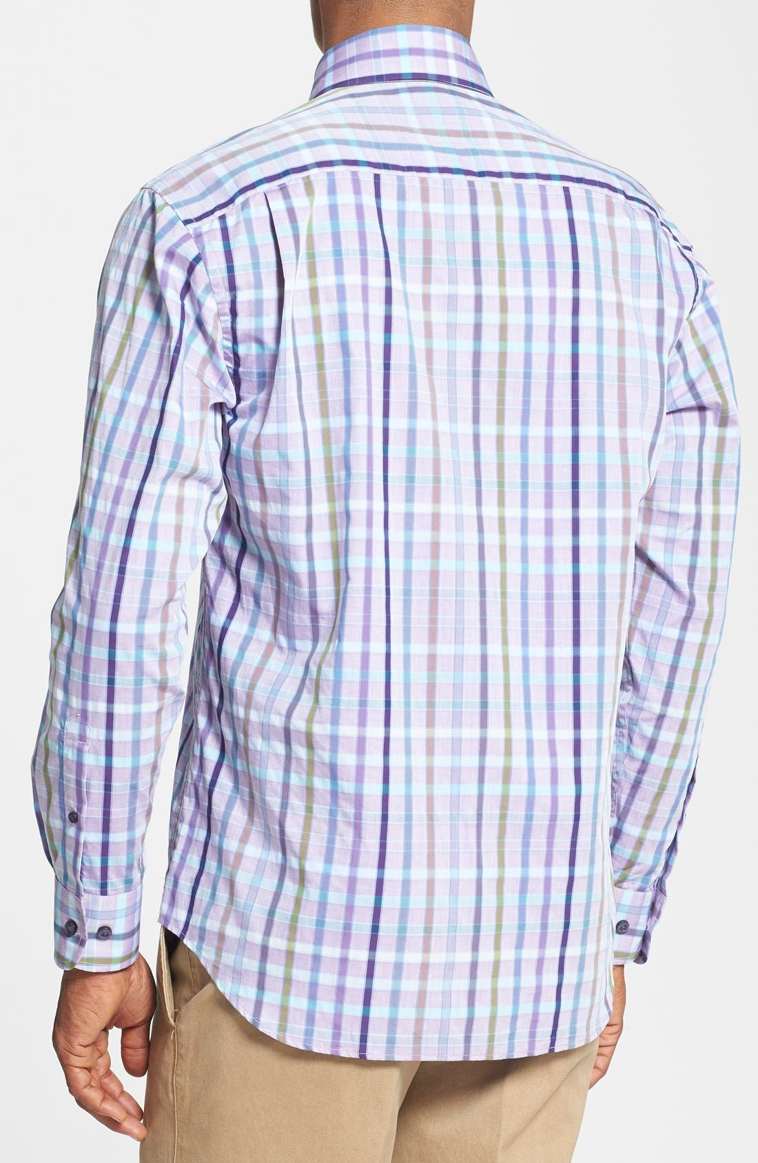 Alternate Image 2  - Robert Talbott Woven Sport Shirt