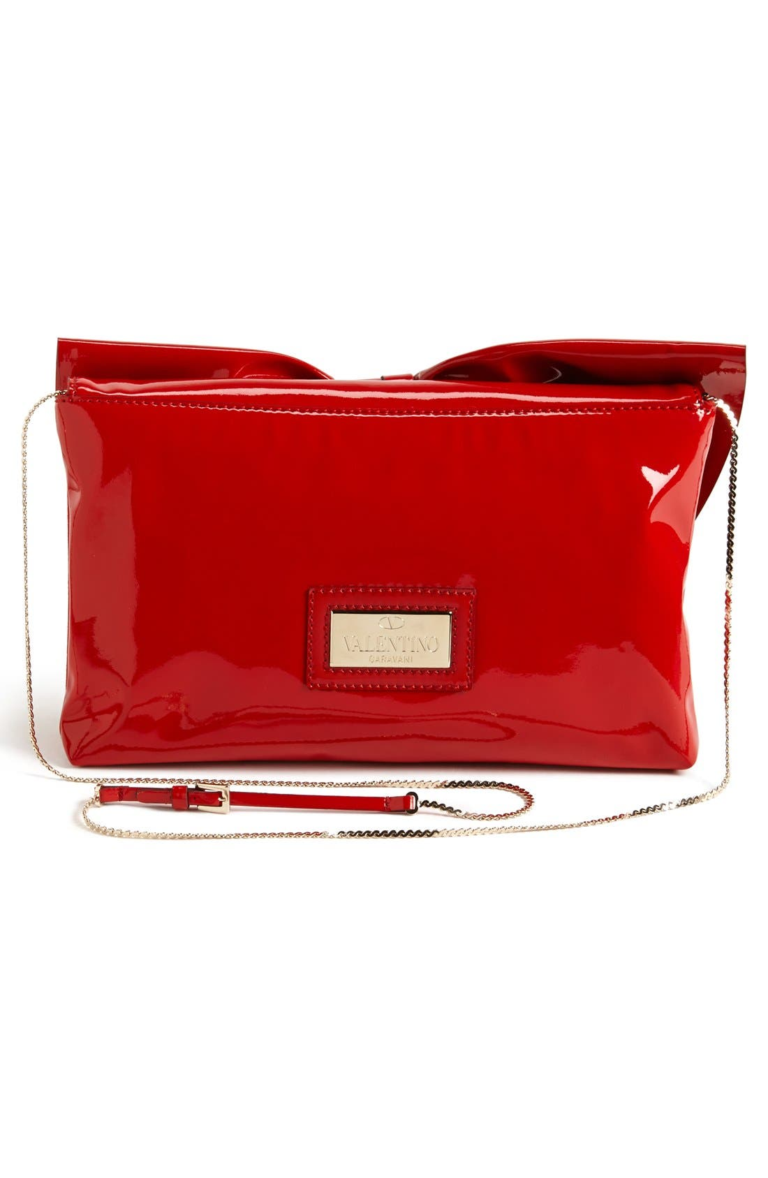 Alternate Image 4  - Valentino 'Lacca' Flap Clutch