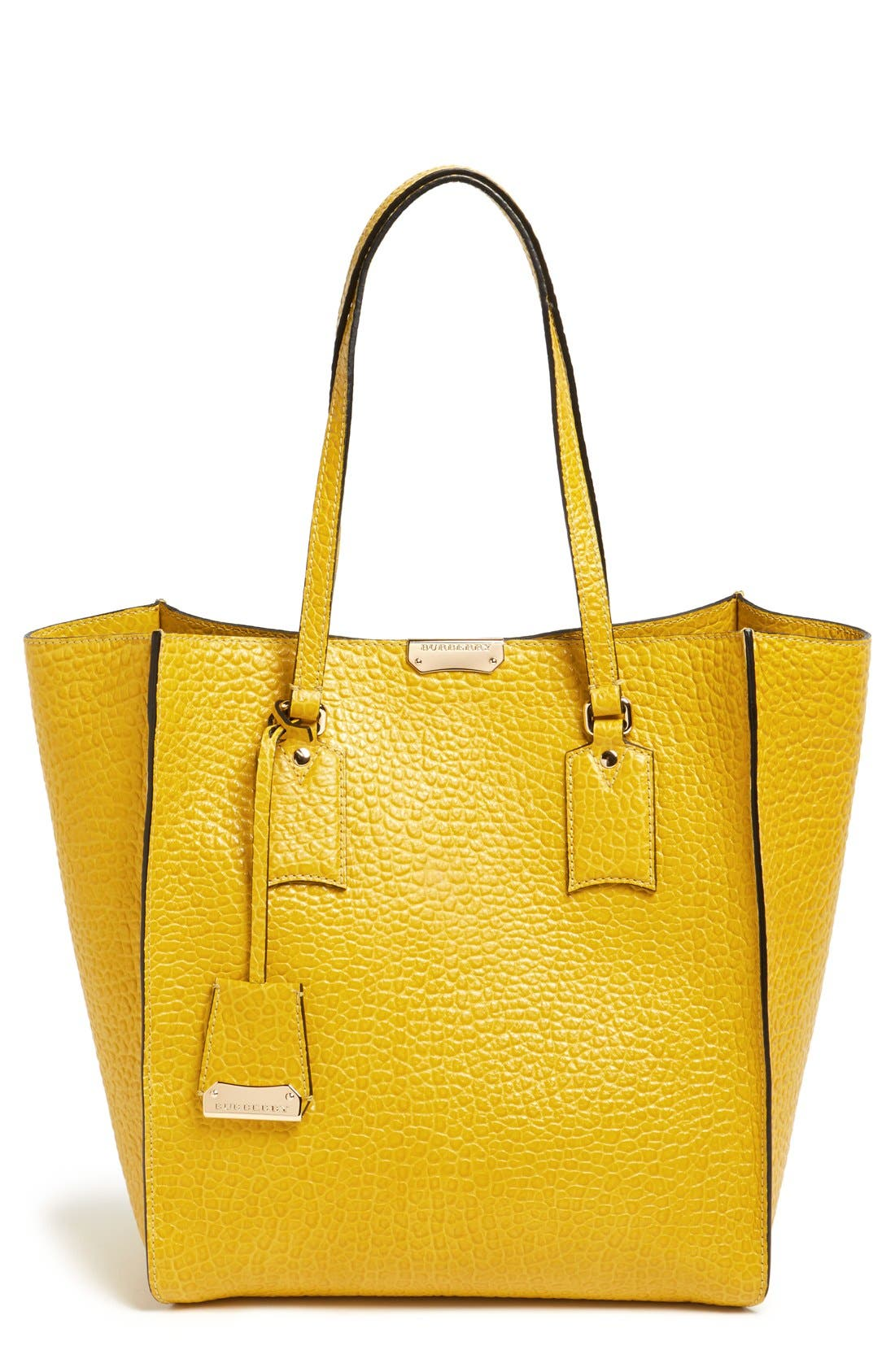 Main Image - Burberry 'Medium Woodbury' Leather Tote