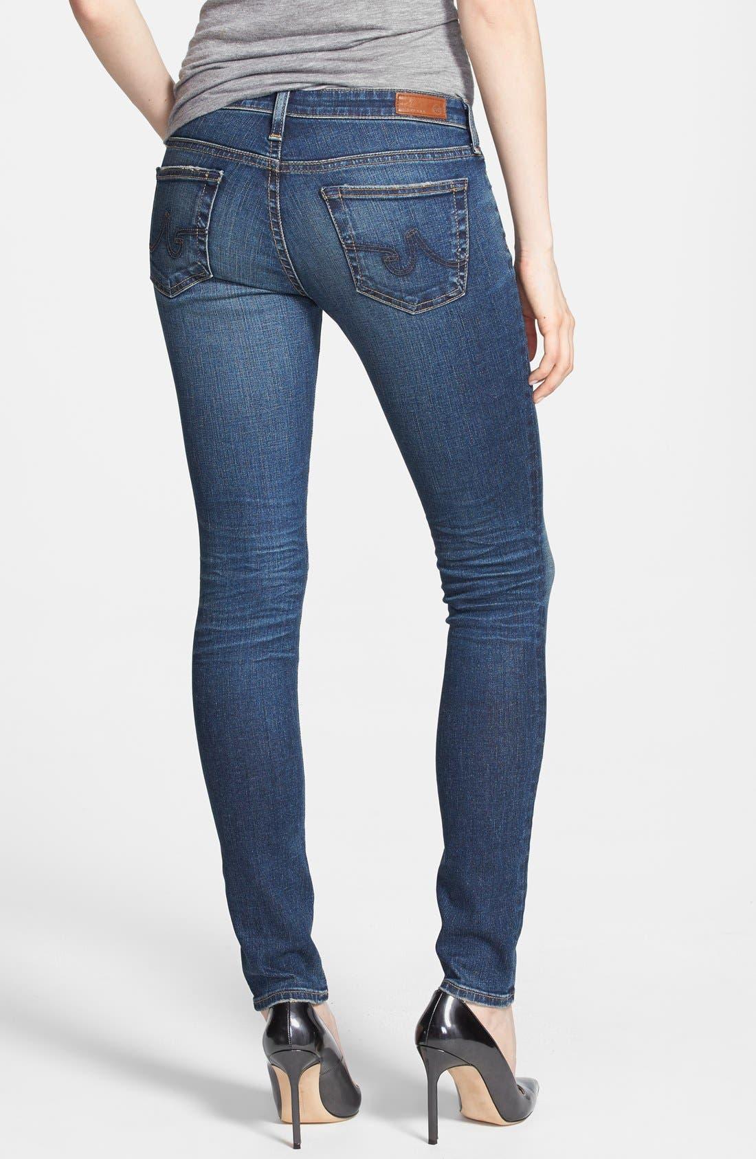 Alternate Image 2  - AG 'The Legging' Super Skinny Jeans (60-Year Dive)