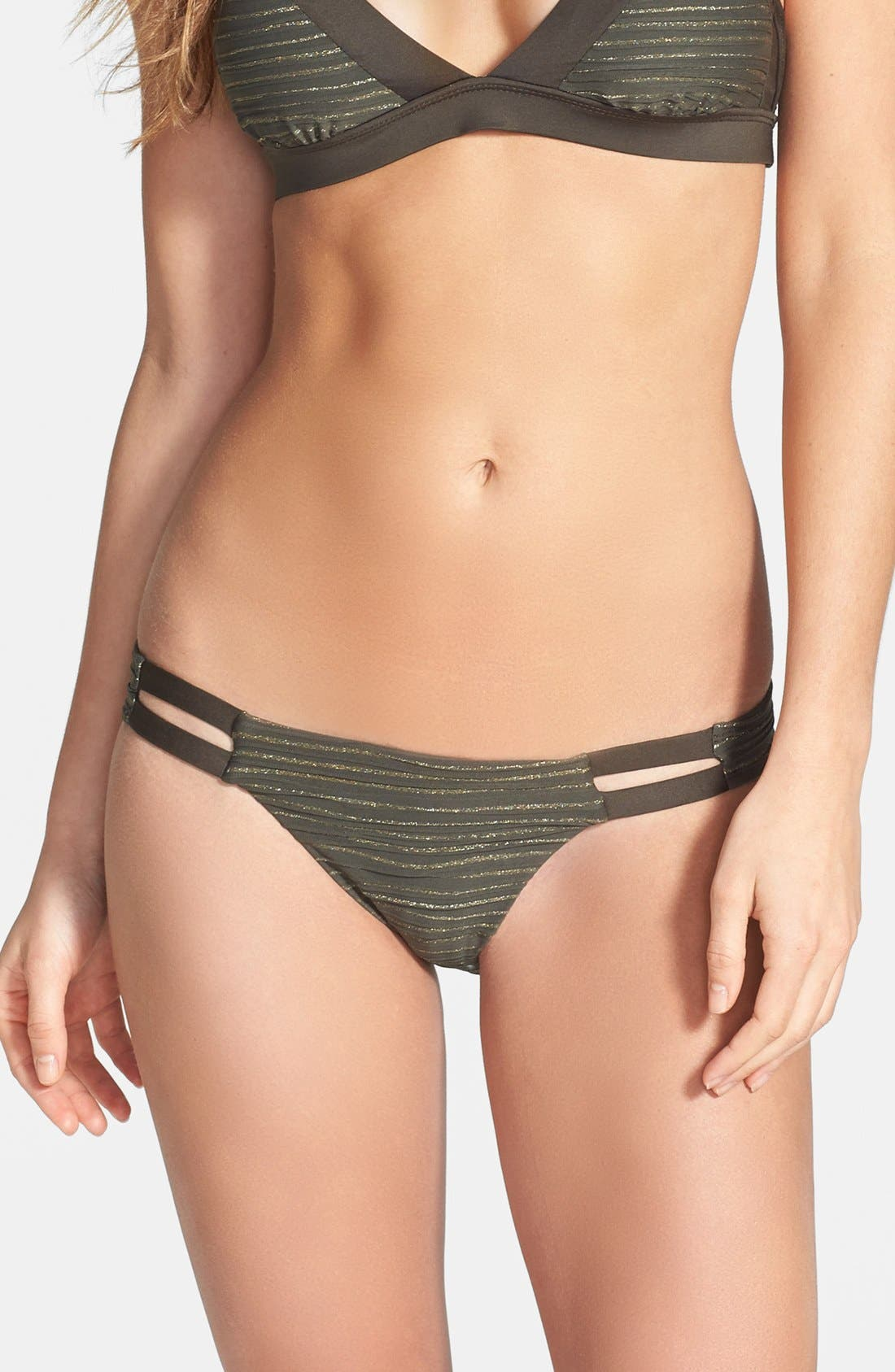 Alternate Image 1 Selected - Vitamin A® 'Neutra' Hipster Full Coverage Bikini Bottoms
