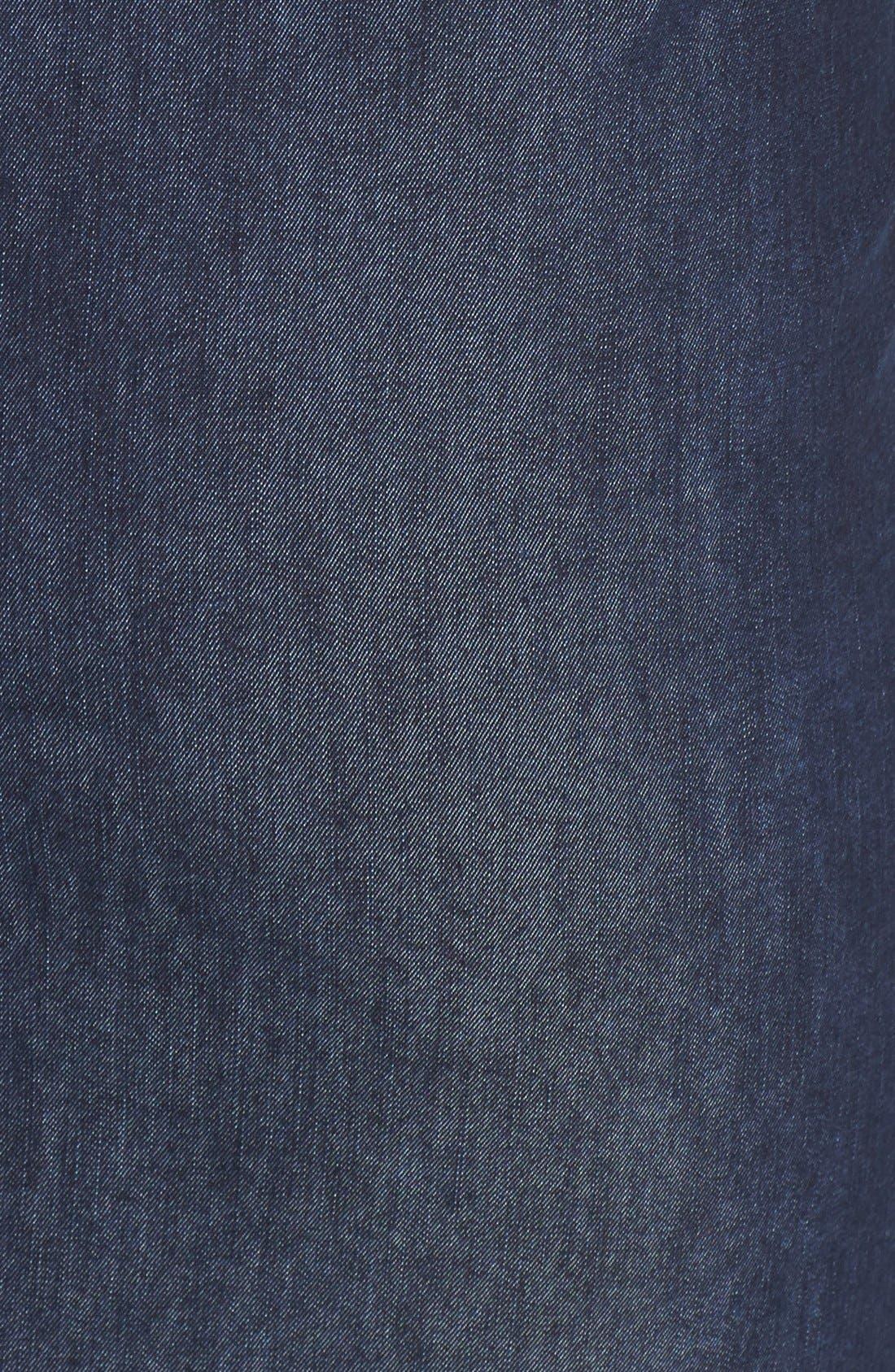 Alternate Image 3  - Halogen® Stretch Cotton Blend Pencil Skirt (Regular & Petite)
