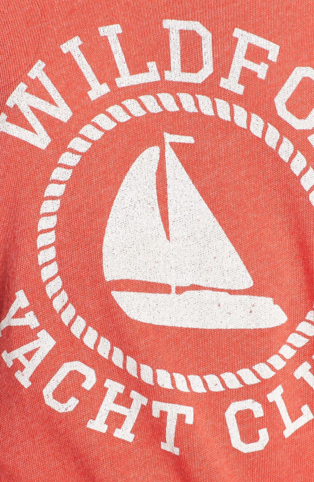 Alternate Image 3  - Wildfox 'Sail On' Raglan Sleeve Tee