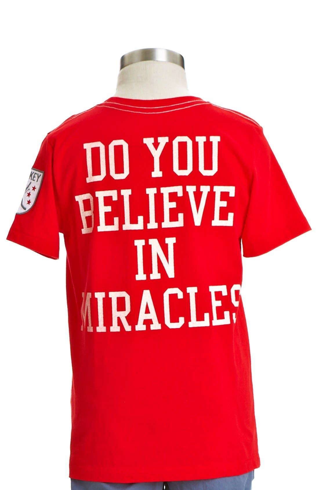 Alternate Image 2  - Peek 'Thrill of Victory' T-Shirt (Toddler Boys, Little Boys & Big Boys)