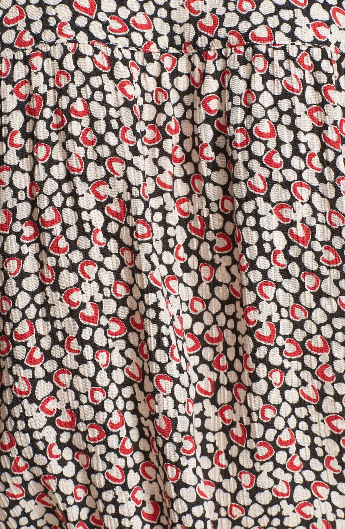 Alternate Image 3  - Zadig & Voltaire 'Raspail' Heart Print Dress