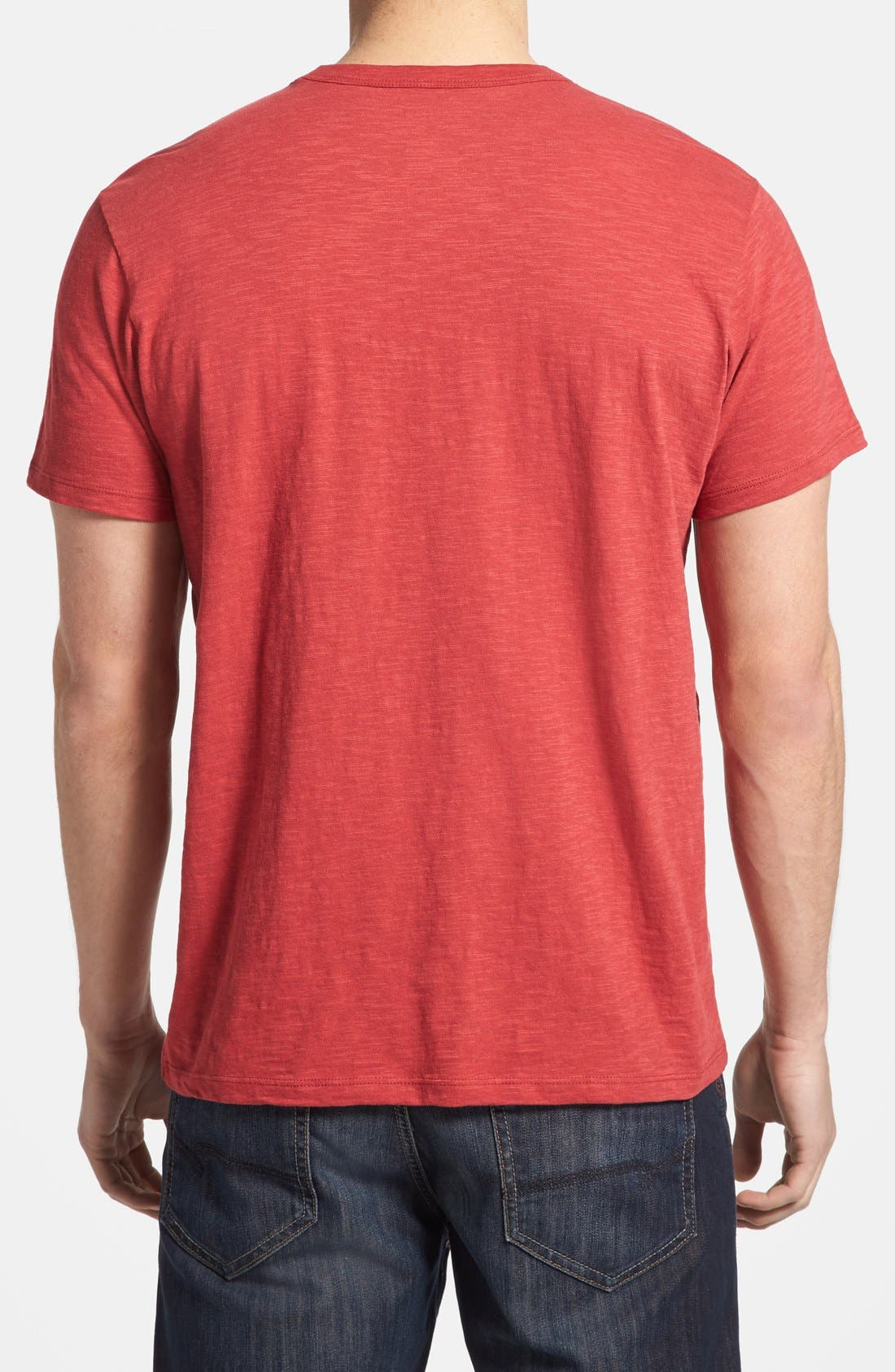 Alternate Image 2  - 47 Brand 'New England Patriots - Scrum' Graphic T-Shirt