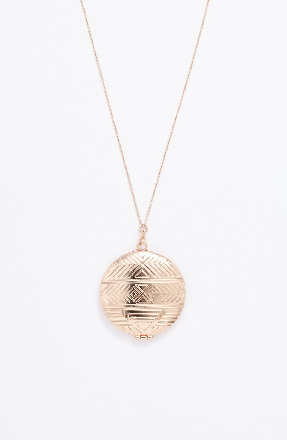 Alternate Image 2  - House of Harlow 1960 Medallion Locket Pendant Necklace
