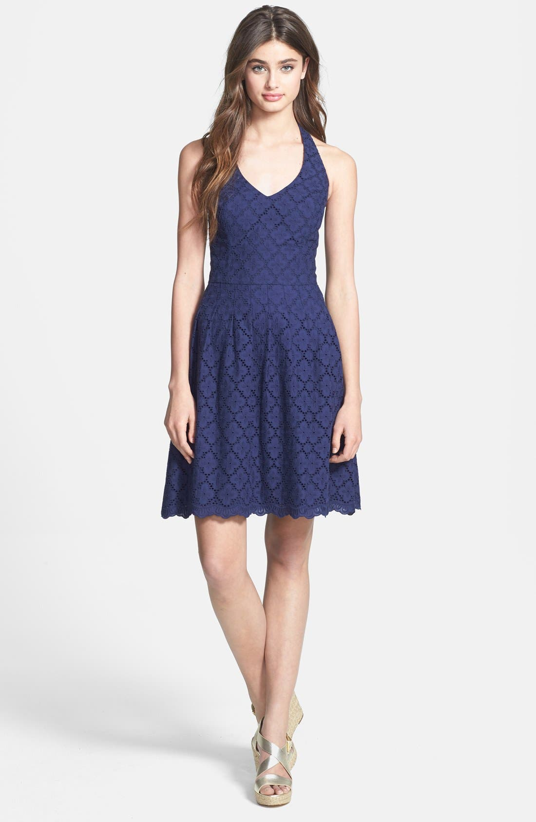 Alternate Image 3  - Lilly Pulitzer 'Ross' Lace Halter Dress
