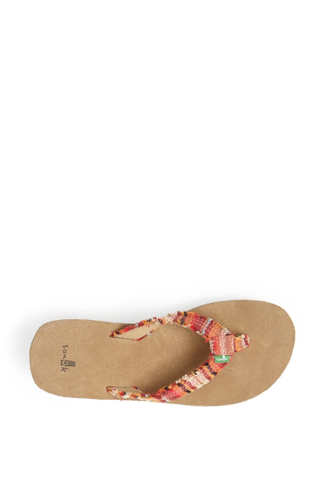 Alternate Image 3  - Sanuk 'Fraidy Cat' Wedge Flip Flop