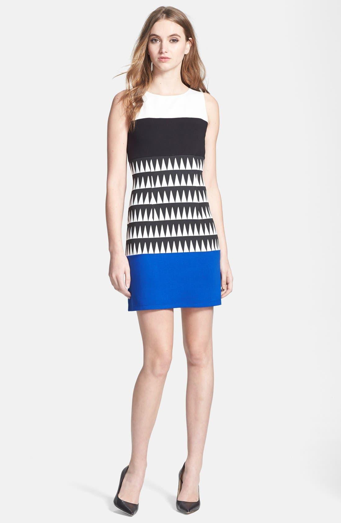 Main Image - Bailey 44 'Reggae' Colorblock Sheath Dress