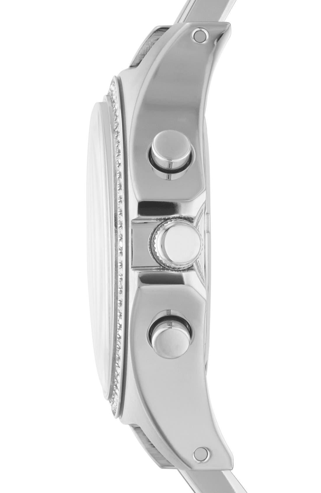 Alternate Image 3  - MARC BY MARC JACOBS 'Henry Glitz' Chronograph Bracelet Watch, 37mm