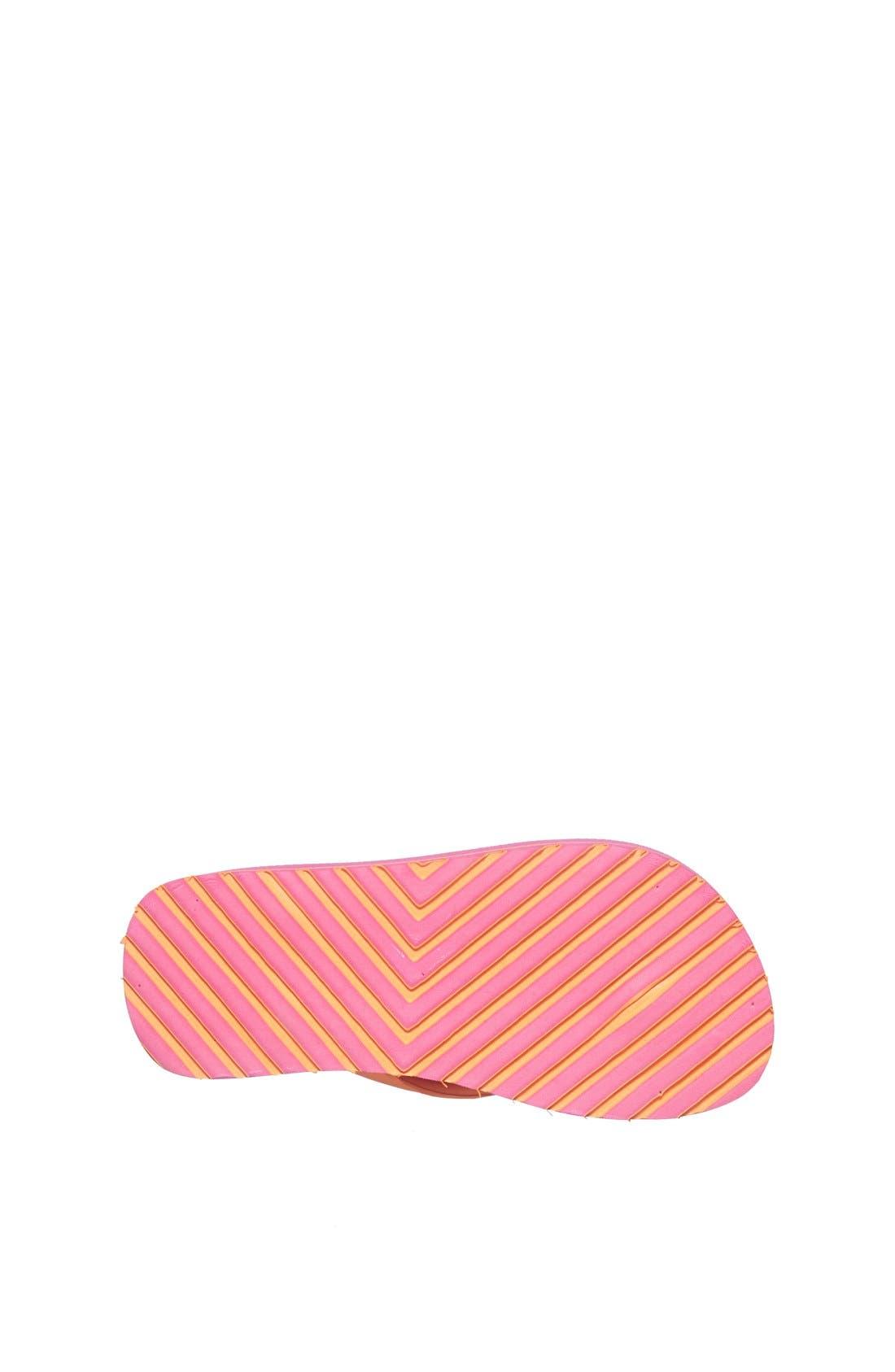 Alternate Image 4  - Lacoste 'Nosara' Flip Flop (Toddler & Little Kid)