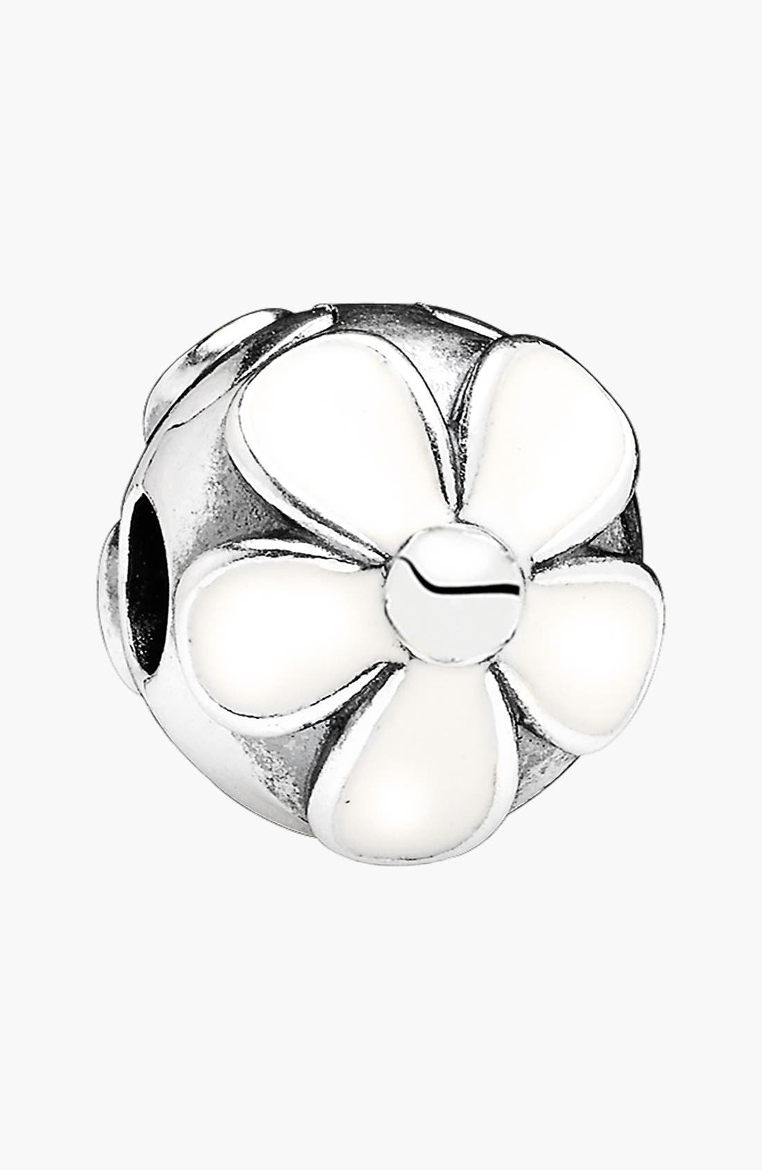 Alternate Image 1 Selected - PANDORA 'Darling Daisies' Clip Charm