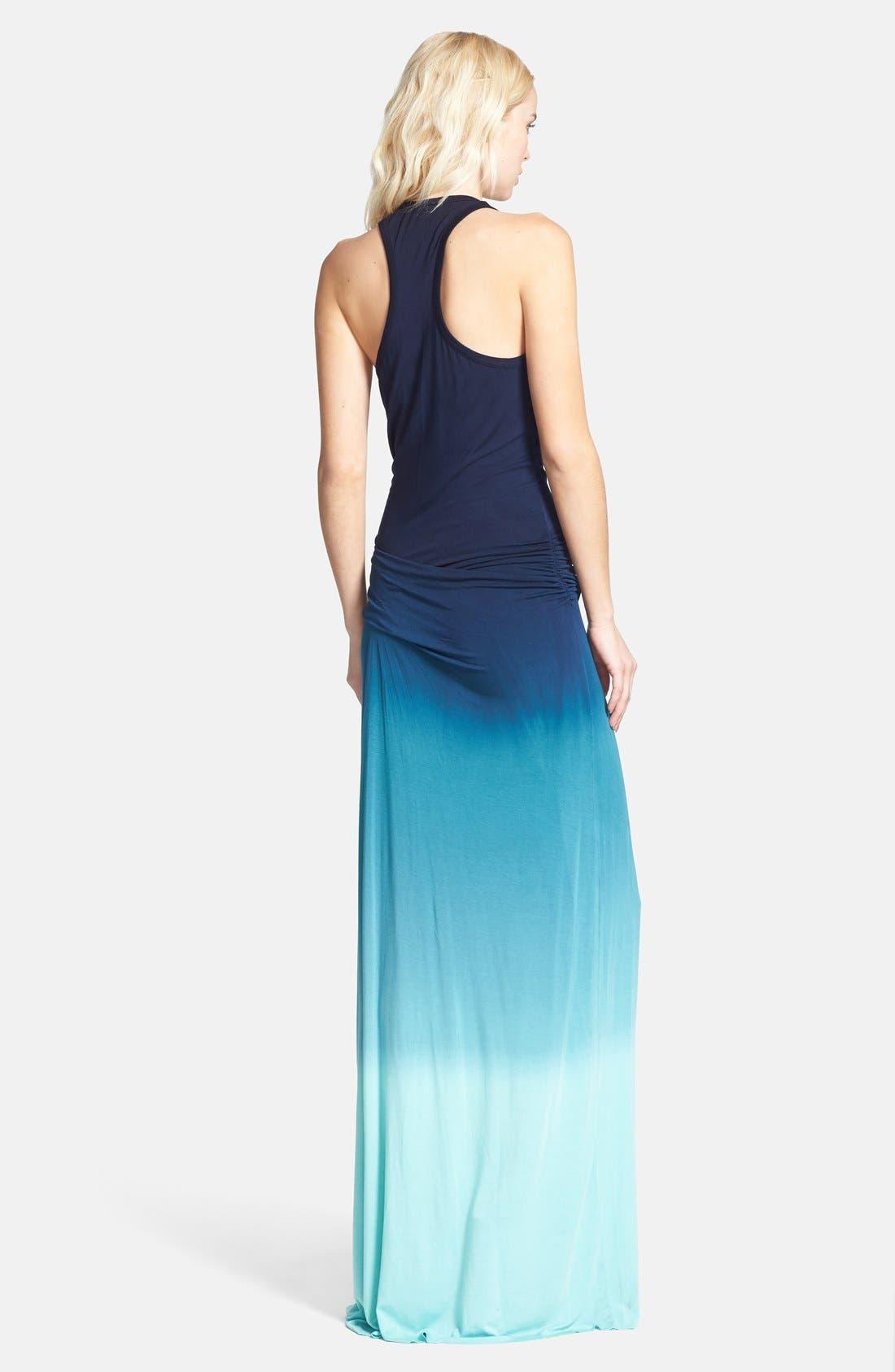 Alternate Image 2  - Young, Fabulous & Broke 'Hamptons' Racerback Jersey Maxi Dress
