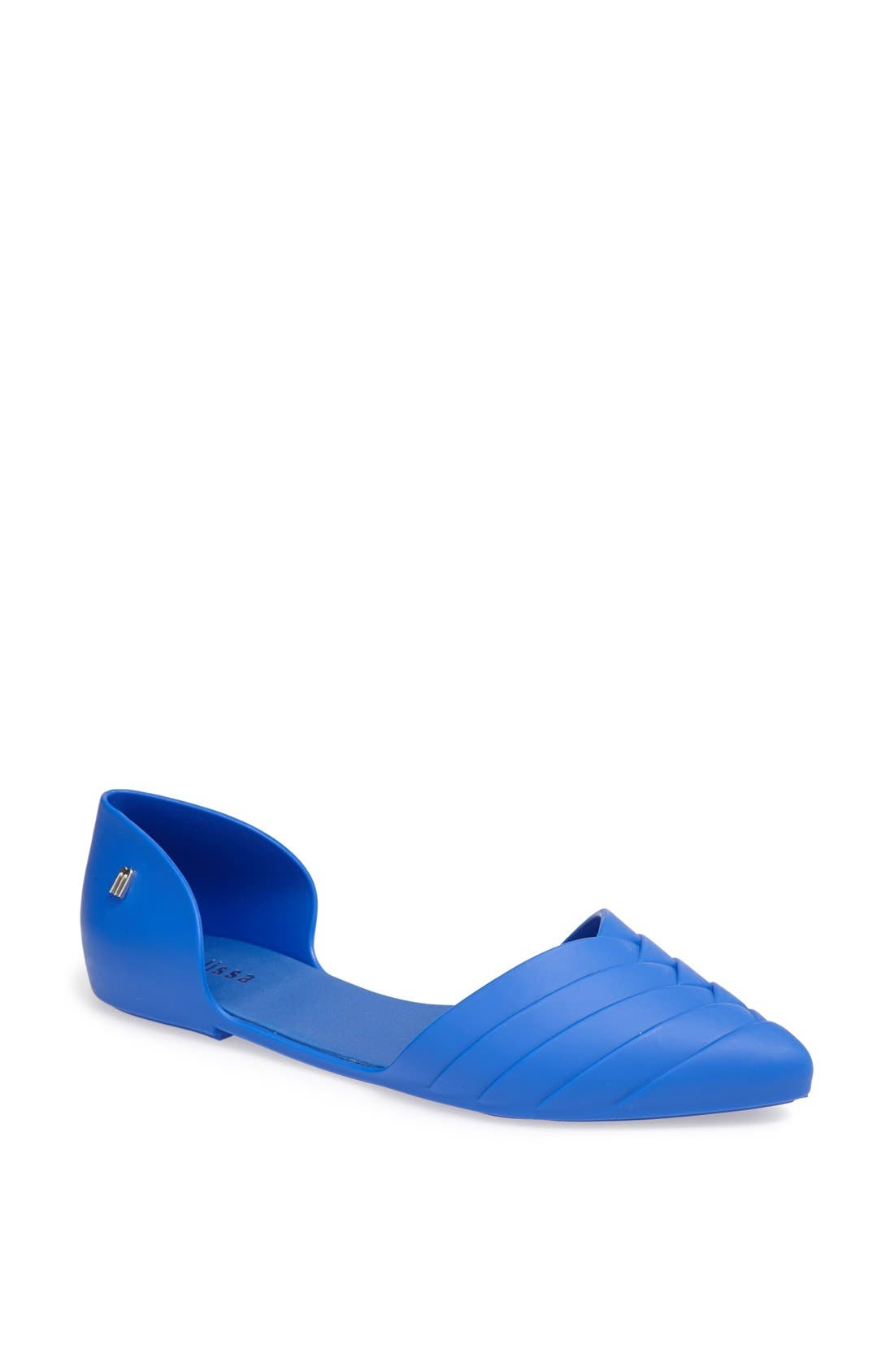 Alternate Image 1 Selected - Melissa 'Petal' Waterproof Pointy Toe Flat
