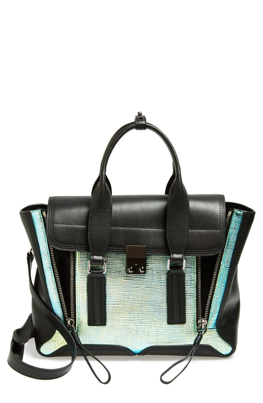 Main Image - 3.1 Phillip Lim 'Medium Pashli' Iridescent Satchel