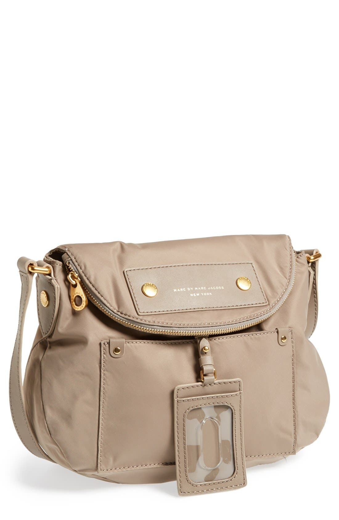 Main Image - MARC BY MARC JACOBS ' Preppy Nylon - Natasha' Crossbody Bag