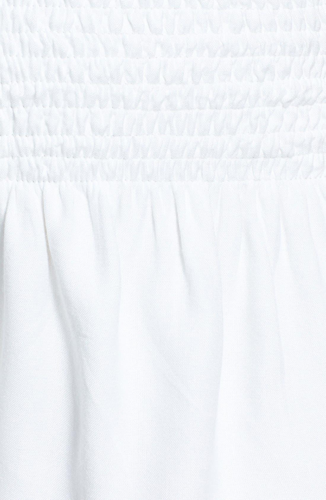 Alternate Image 3  - Lolli Swim 'Bailar' Pompom Cover-Up Shorts