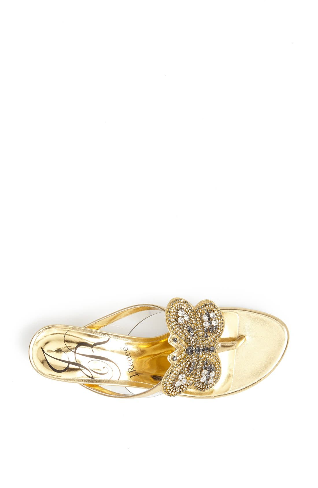Alternate Image 3  - J. Reneé 'Imbrie' Embellished Thong Sandal