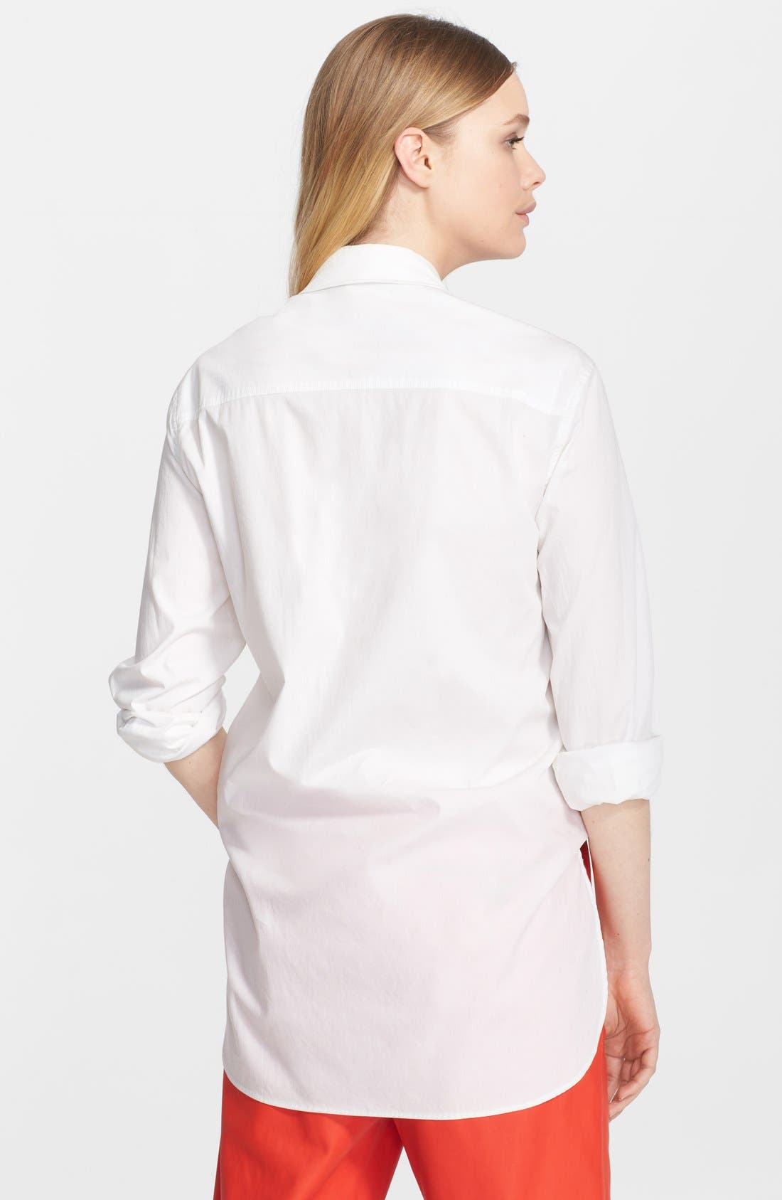 Alternate Image 2  - T by Alexander Wang Poplin Shirt