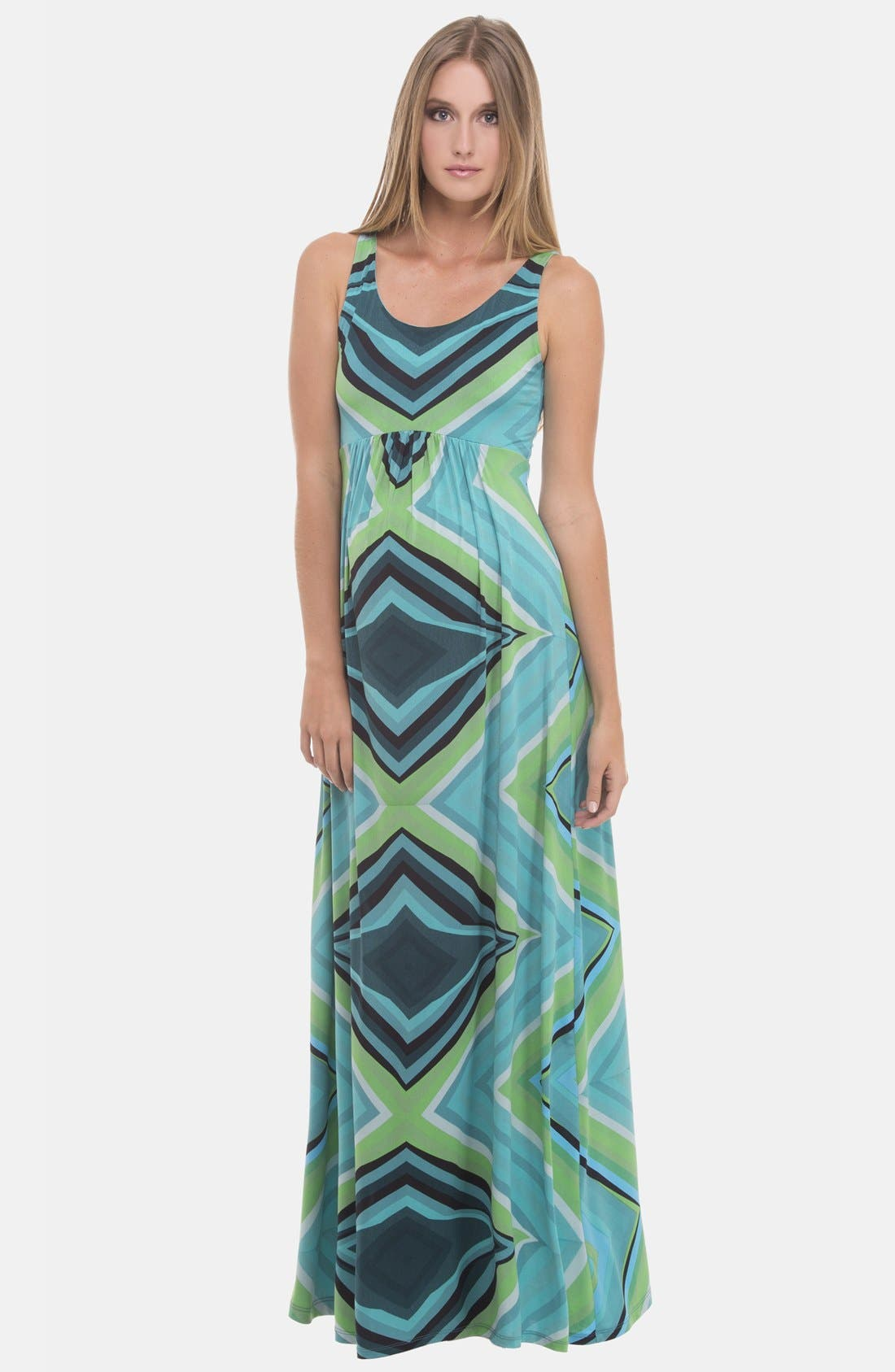 Alternate Image 1 Selected - Olian Maternity Maxi Dress