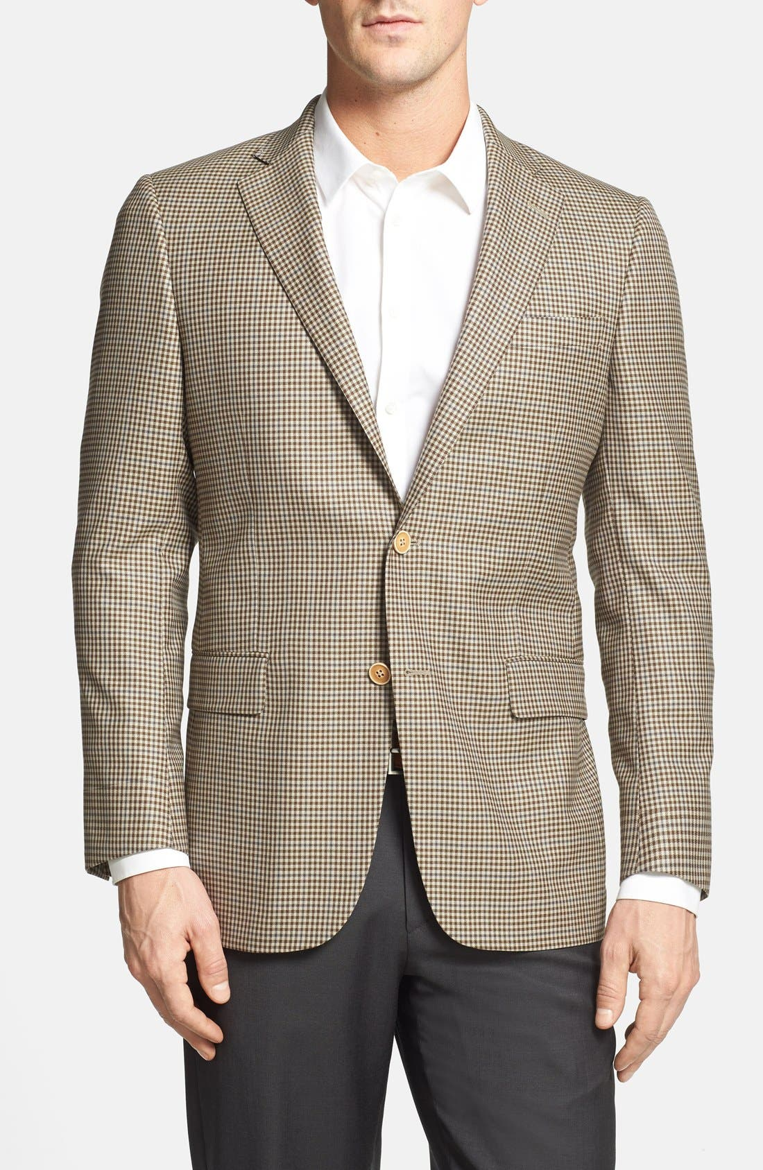 Alternate Image 1 Selected - 2 BTN NY CLASSIC FIT SPORTCOAT