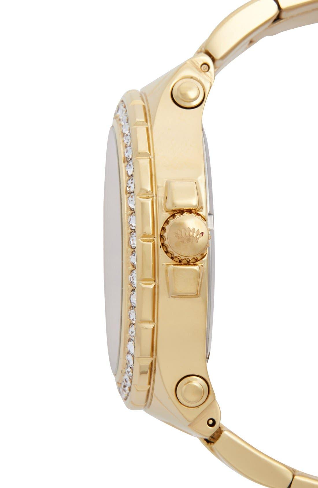 Alternate Image 3  - Juicy Couture 'Pedigree' Multifunction Bracelet Watch, 42mm