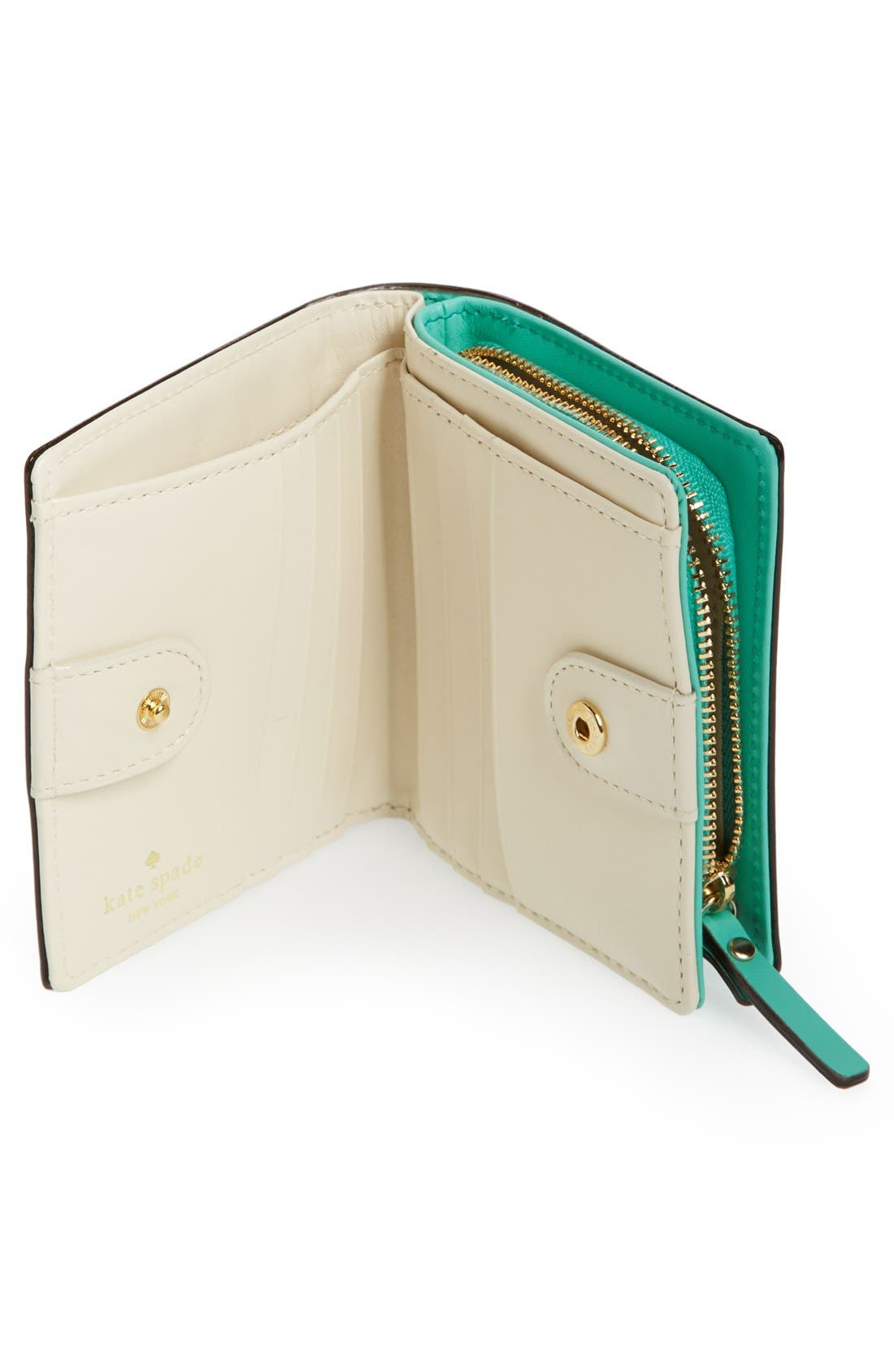 Alternate Image 2  - kate spade new york '2 park avenue - buttercup' wallet