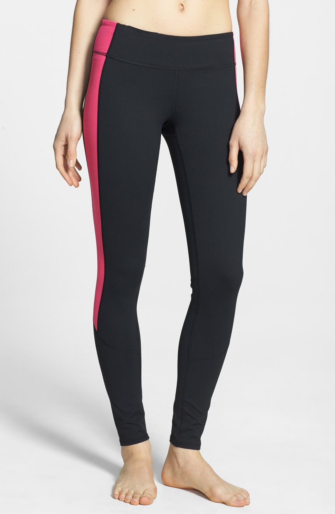 Alternate Image 1 Selected - Zella 'Live In - Triple Blocked Tuxedo' Leggings