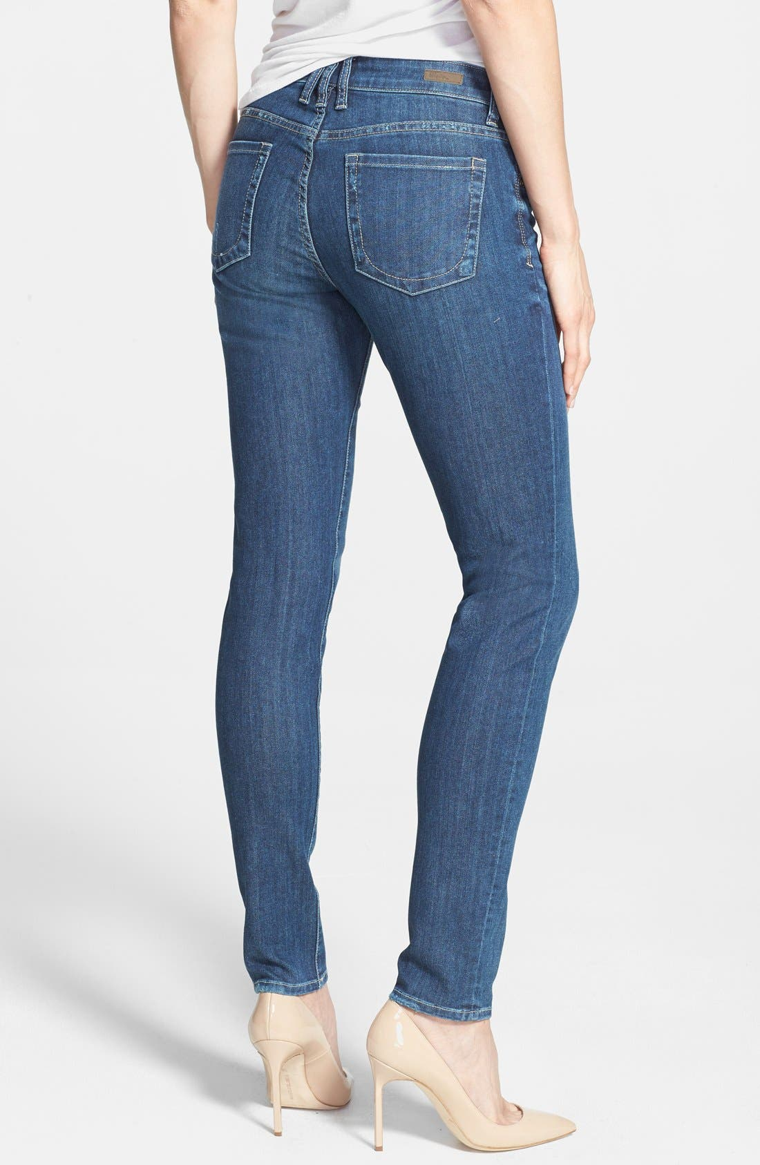Alternate Image 2  - KUT from the Kloth 'Mia' Stretch Skinny Jeans (Effect) (Regular & Petite)